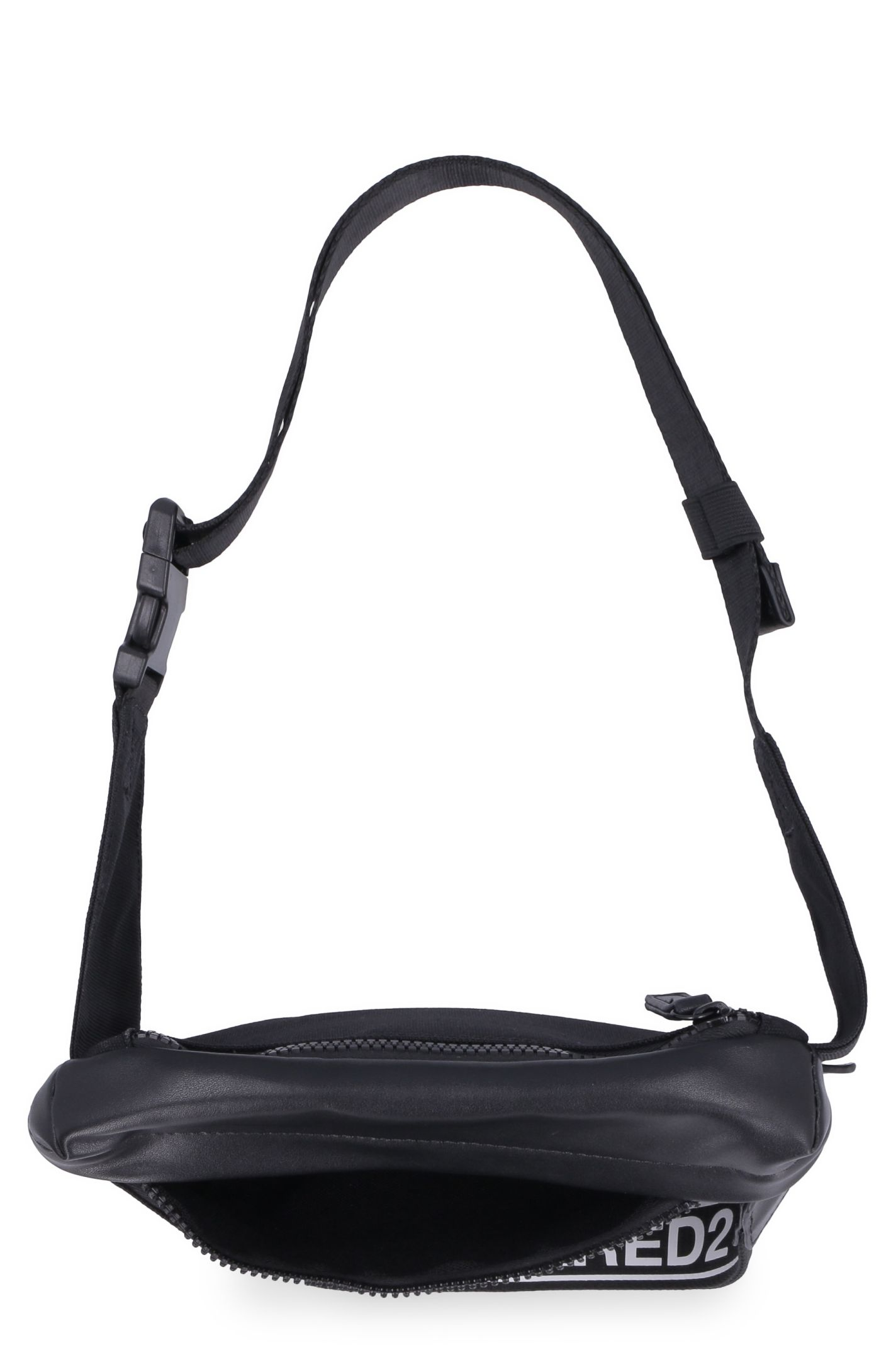 61b232956cd Dsquared2 Dsquared2 Nylon Belt Bag With Leather Details - black ...
