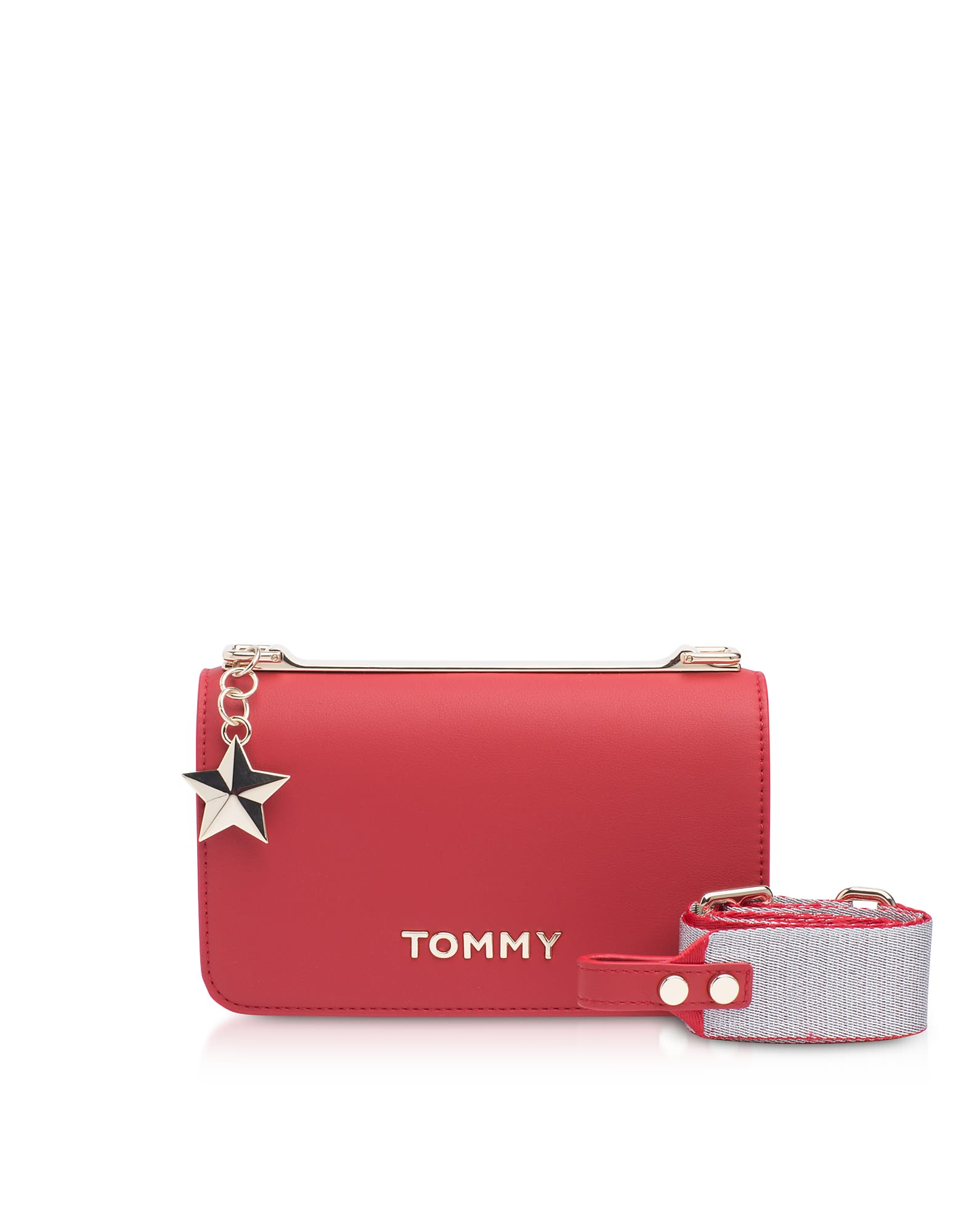 a823ea61152e Tommy Hilfiger Tommy Hilfiger Tommy Statement Crossbody Bag - Red ...