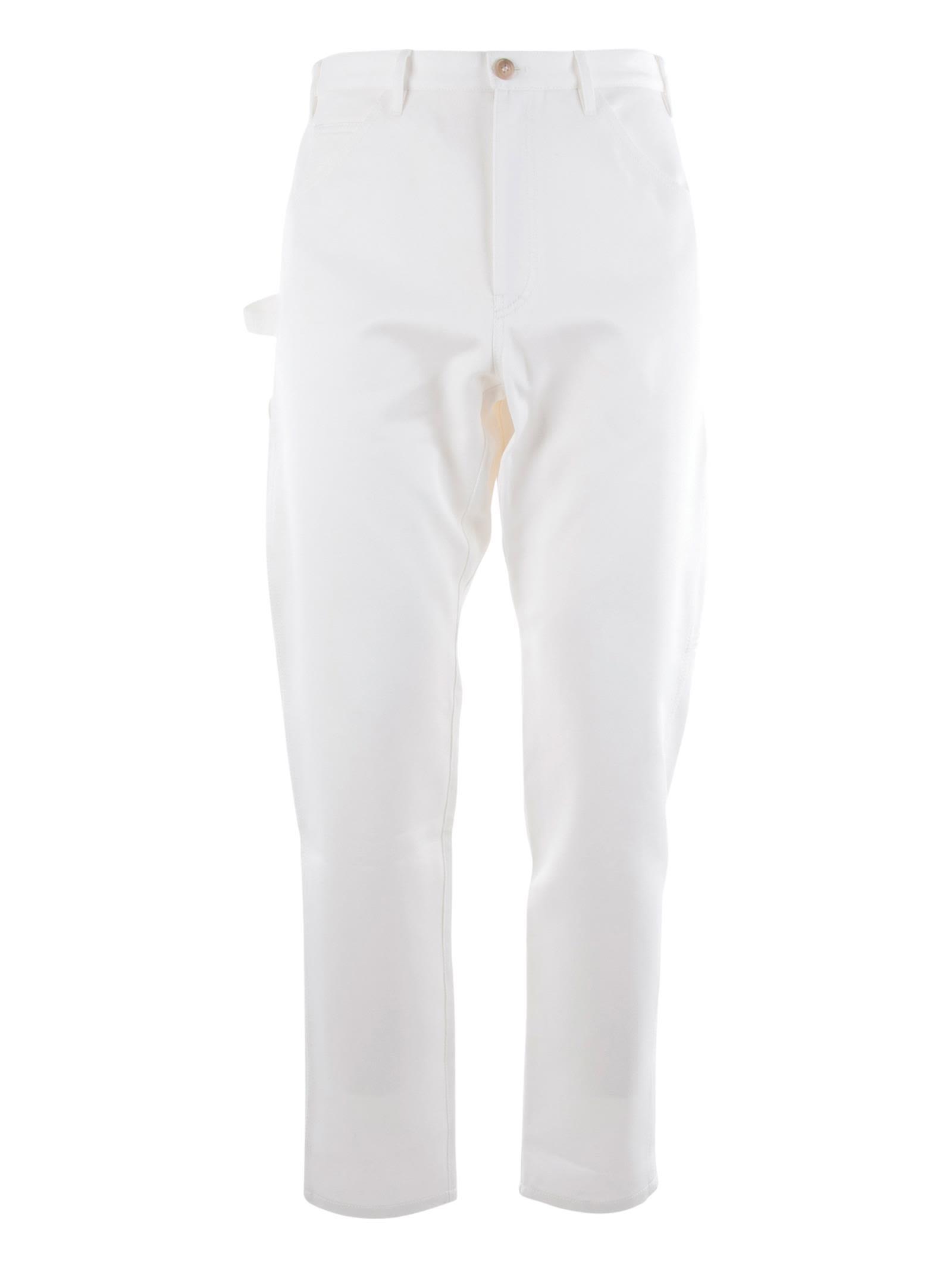 201755e1b9ba A.P.C. A.p.c. Job Trousers - White - 10702370