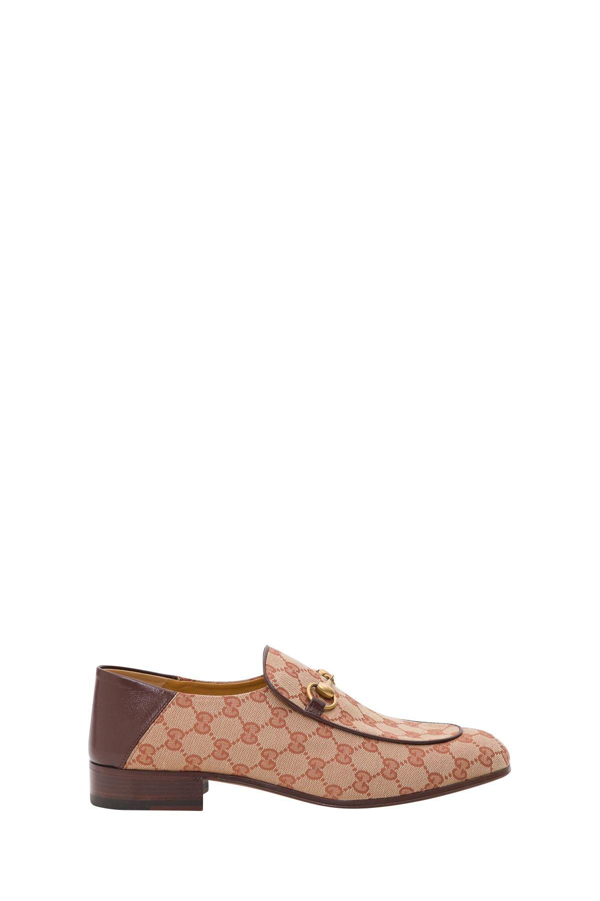 3f1ab87f73f Gucci Gucci Gg Canvas Horsebit Loafer - Brown - 10866999