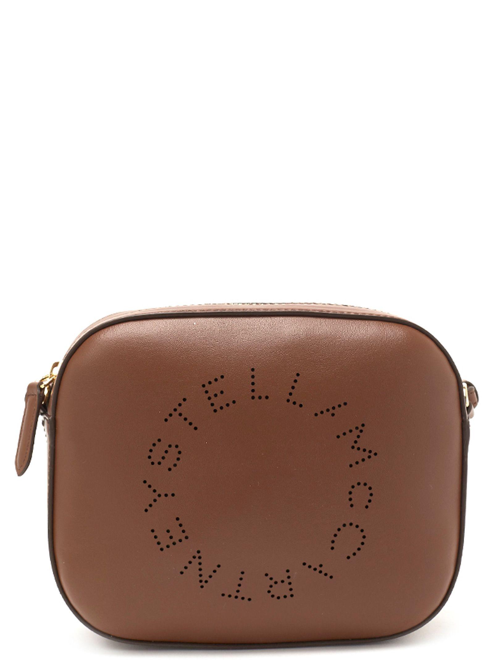 Stella McCartney Stella Mccartney  stella Logo  Bag - Brown ... f30203f21cbe9