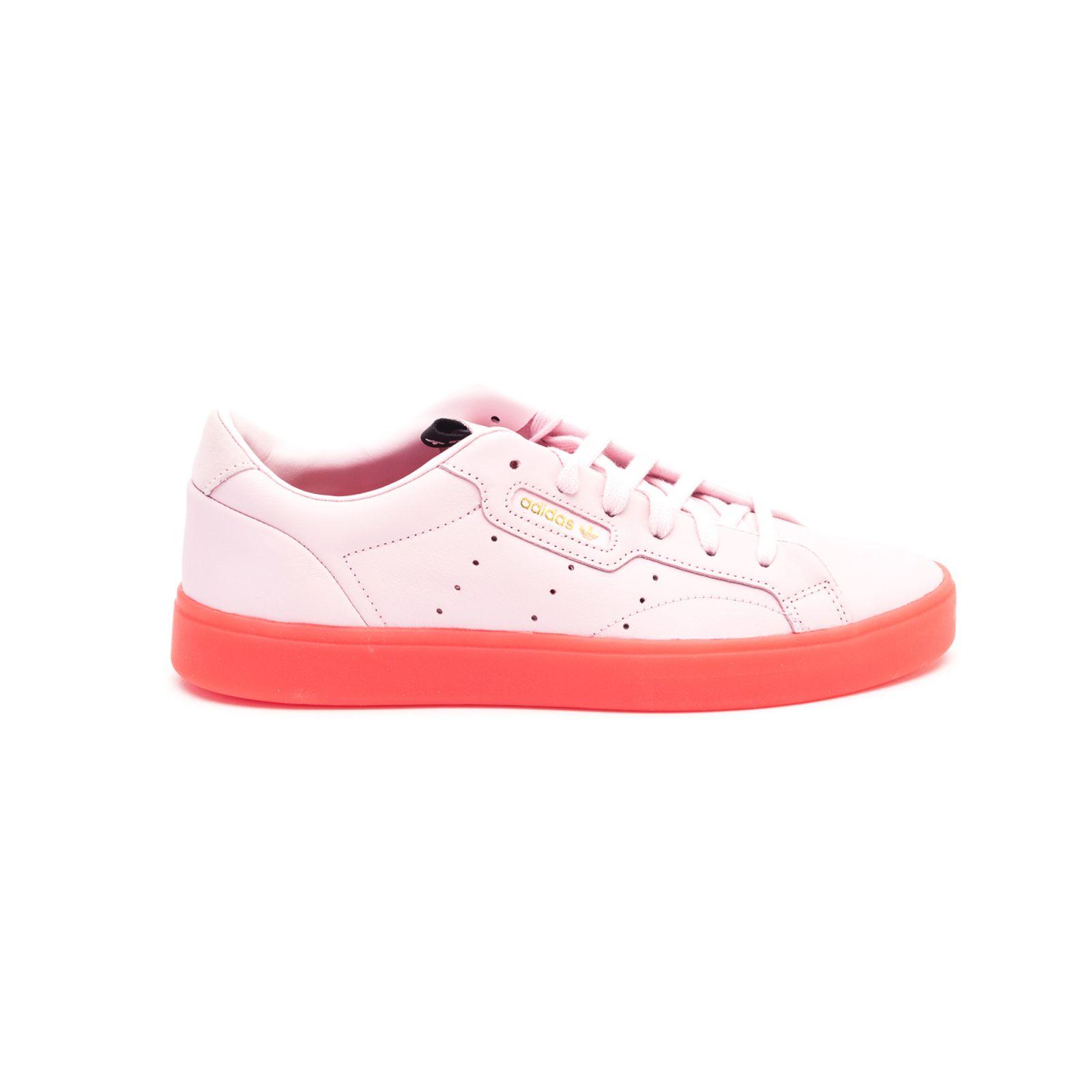 211ca9bba Adidas Adidas Sleek Leather Sneakers - Pink - 10950073 | italist