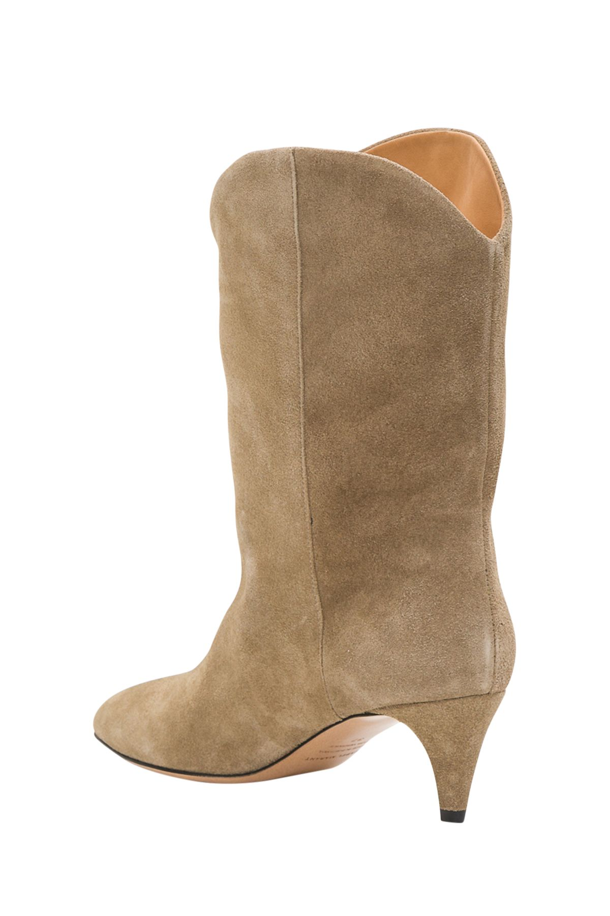 193fab1cef Isabel Marant Isabel Marant Dernee Suede Boots With Cone Heel ...