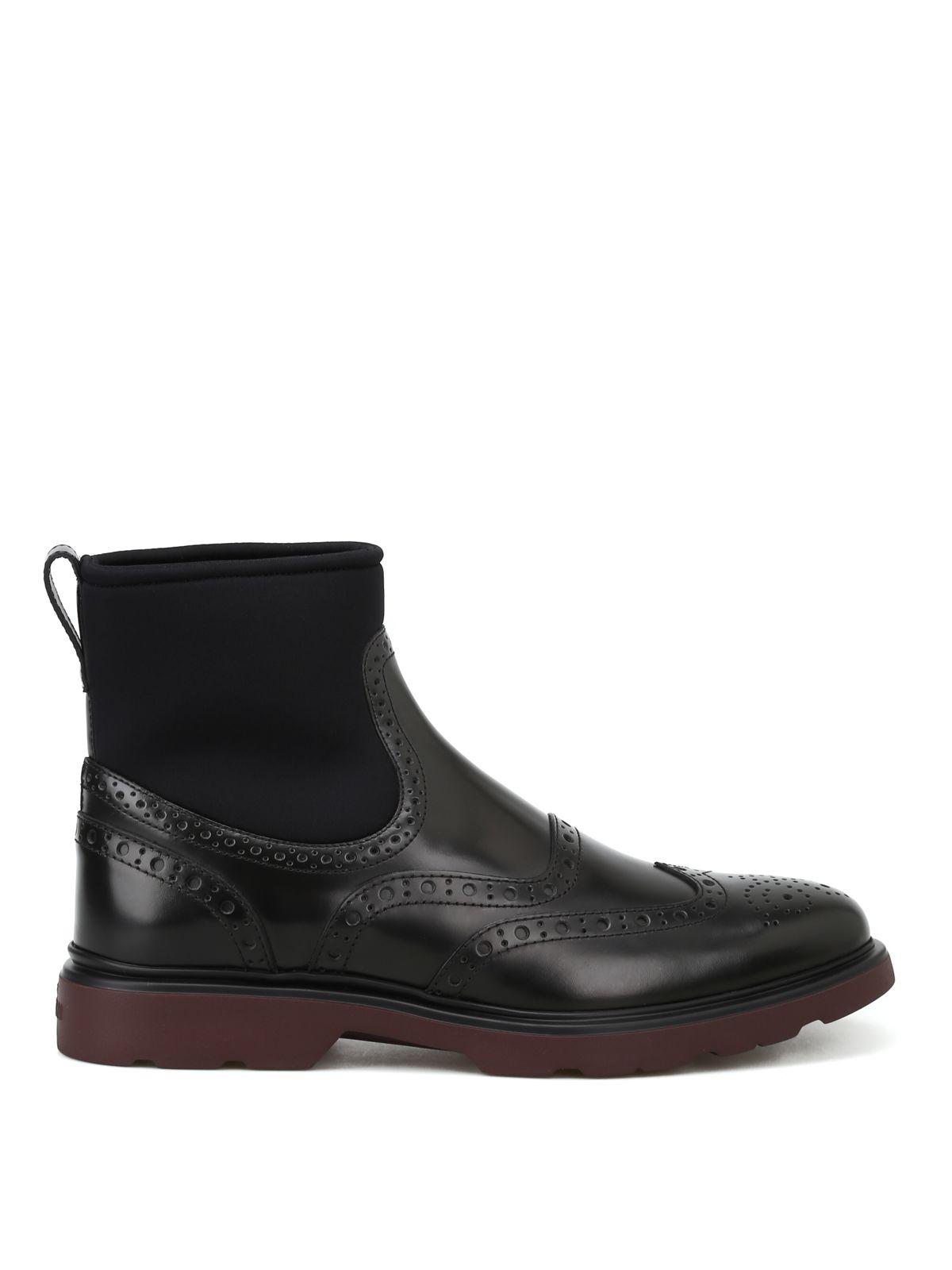 75d03f088d Hogan Hogan Ankle Boots - H304 - Black - 10743272 | italist