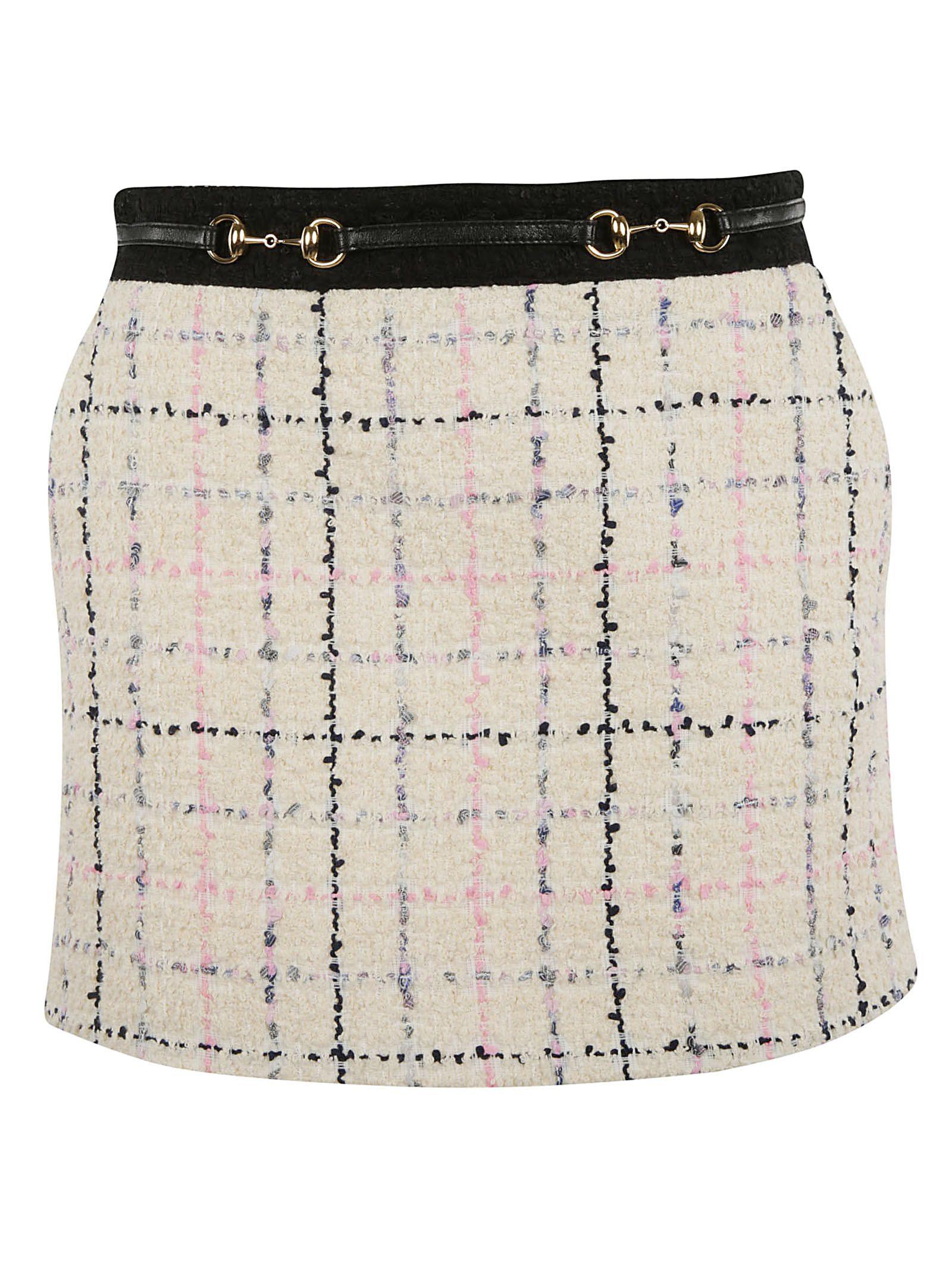 Gucci Skirts Gucci Tweed Mini Skirt
