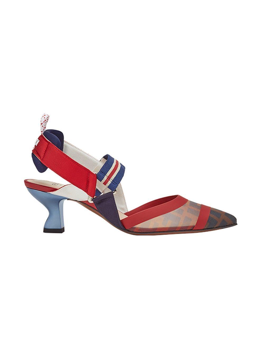 Fendi Shoes Fendi Colibrí Slingback Pumps