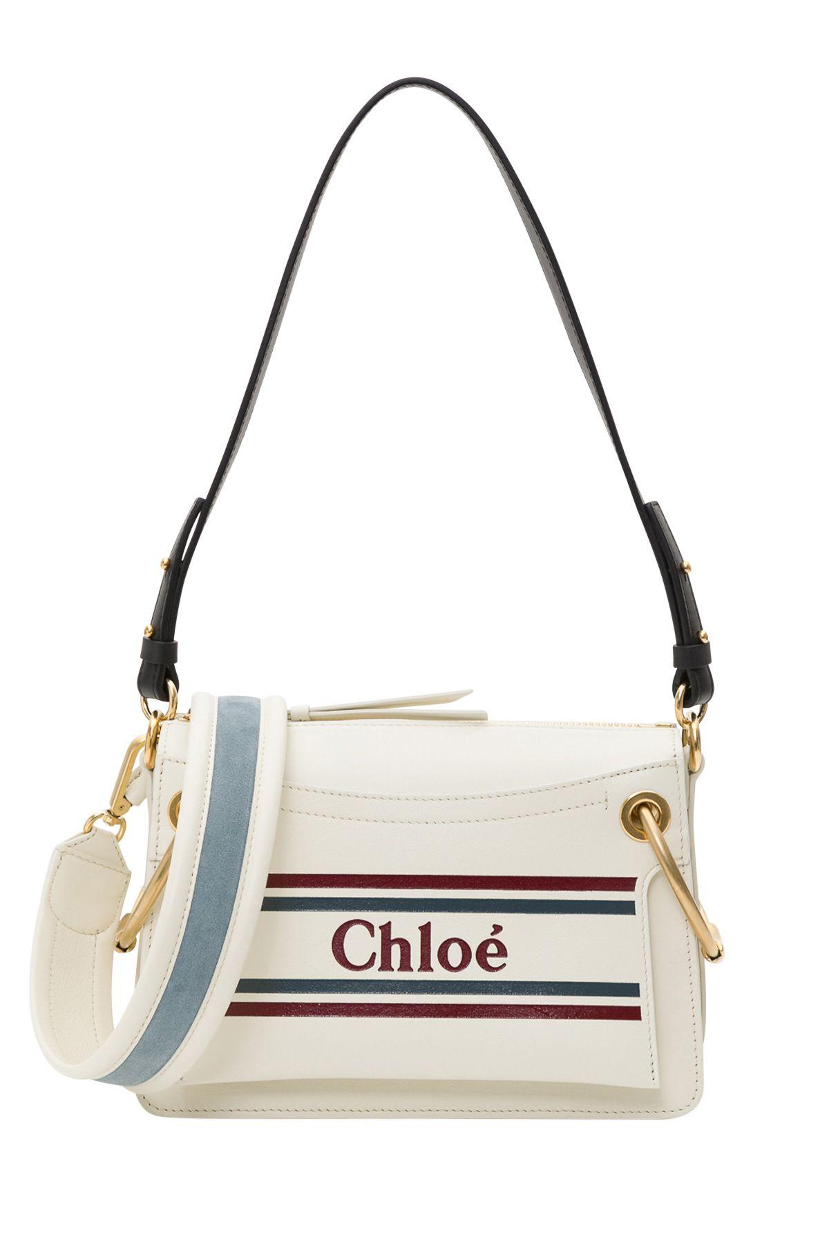b1829e9b76 Chloé Chloé Small Roy Bag - Bianco - 10857781 | italist