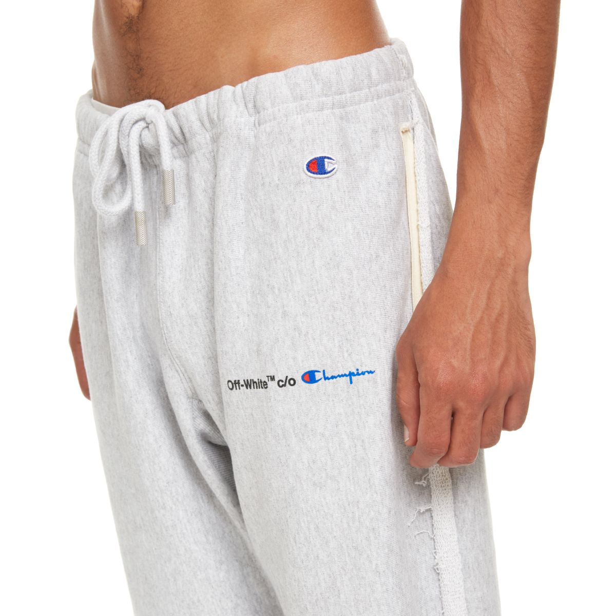 703a159efbc0ce Off-White Off-White Champion Sweatpants - Grey - 9797288 | italist