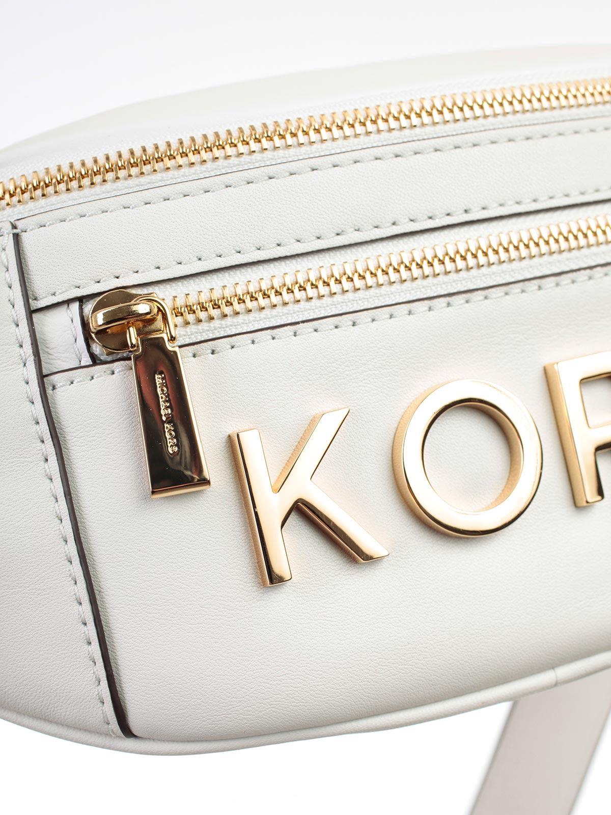 d7a67c2f305d MICHAEL Michael Kors Michael Michael Kors Logo Embellished Belt Bag ...