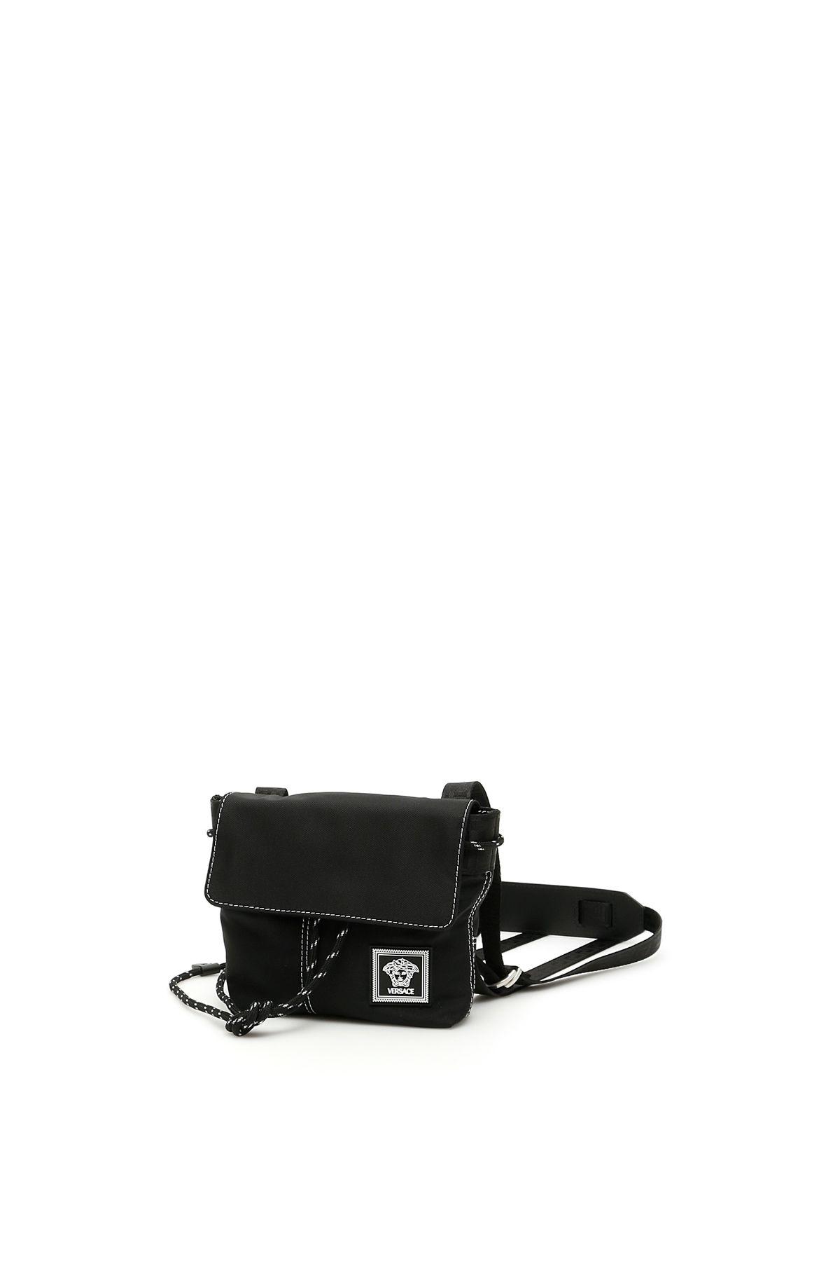Versace Shoulder Versace Messenger Bag With Logo Patch