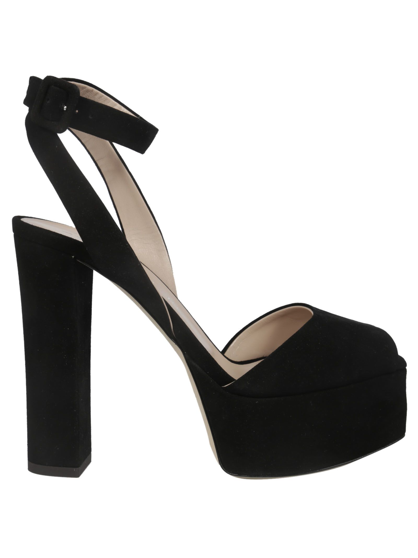 1a9195353b293 Giuseppe Zanotti Giuseppe Zanotti Betty Platform Sandals - Black ...