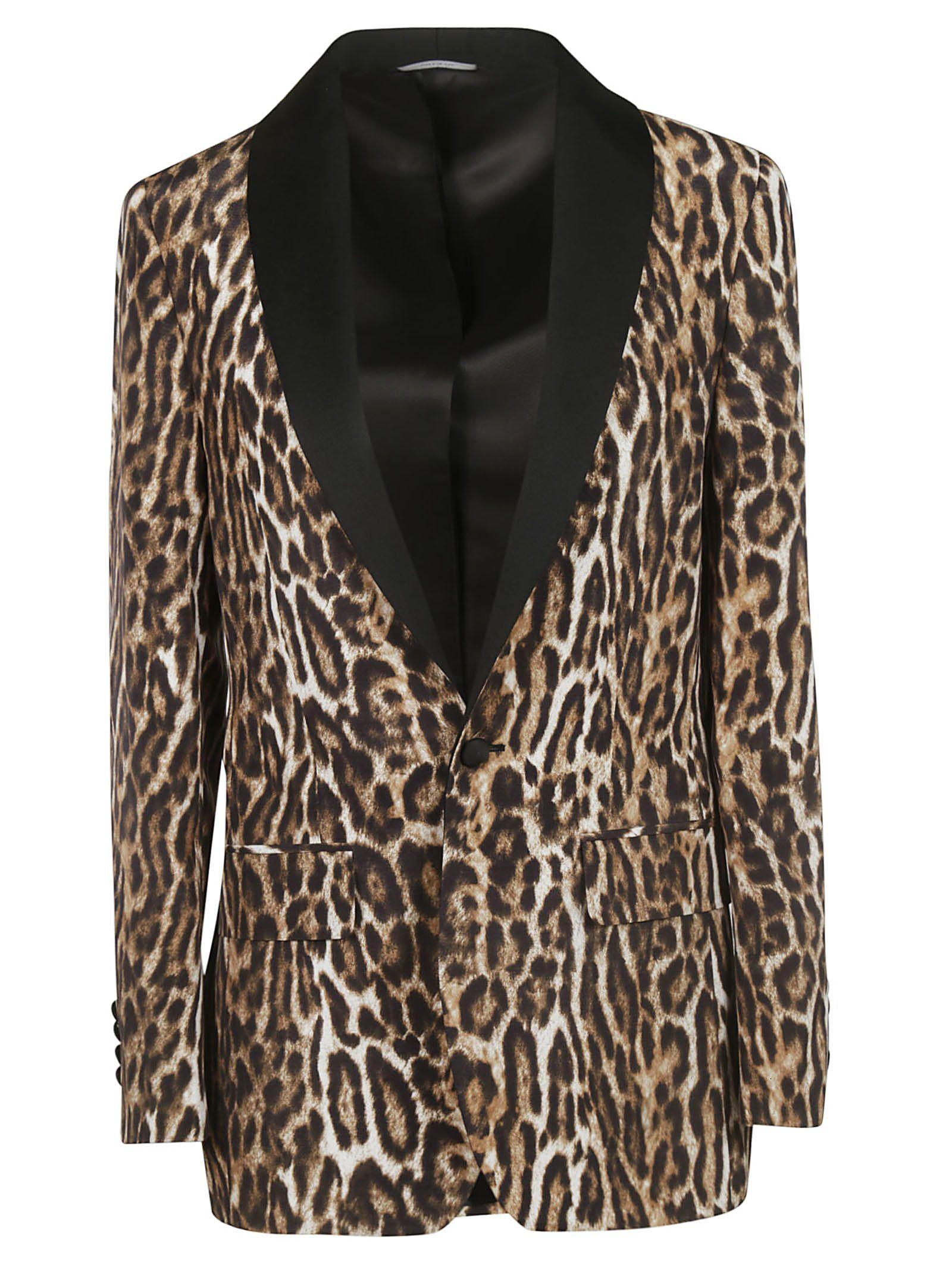 eafe3dfcd0bb R13 R13 Leopard Print Blazer - Brown/White/Black - 10931505   italist