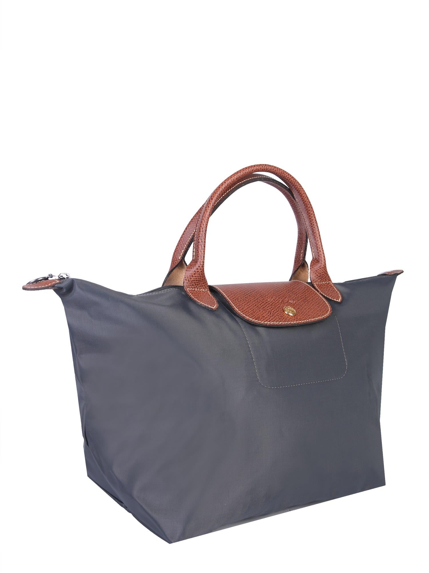 2d9ecf8116d Longchamp Longchamp Medium Le Pliage Bag - GRIGIO - 10790042 | italist