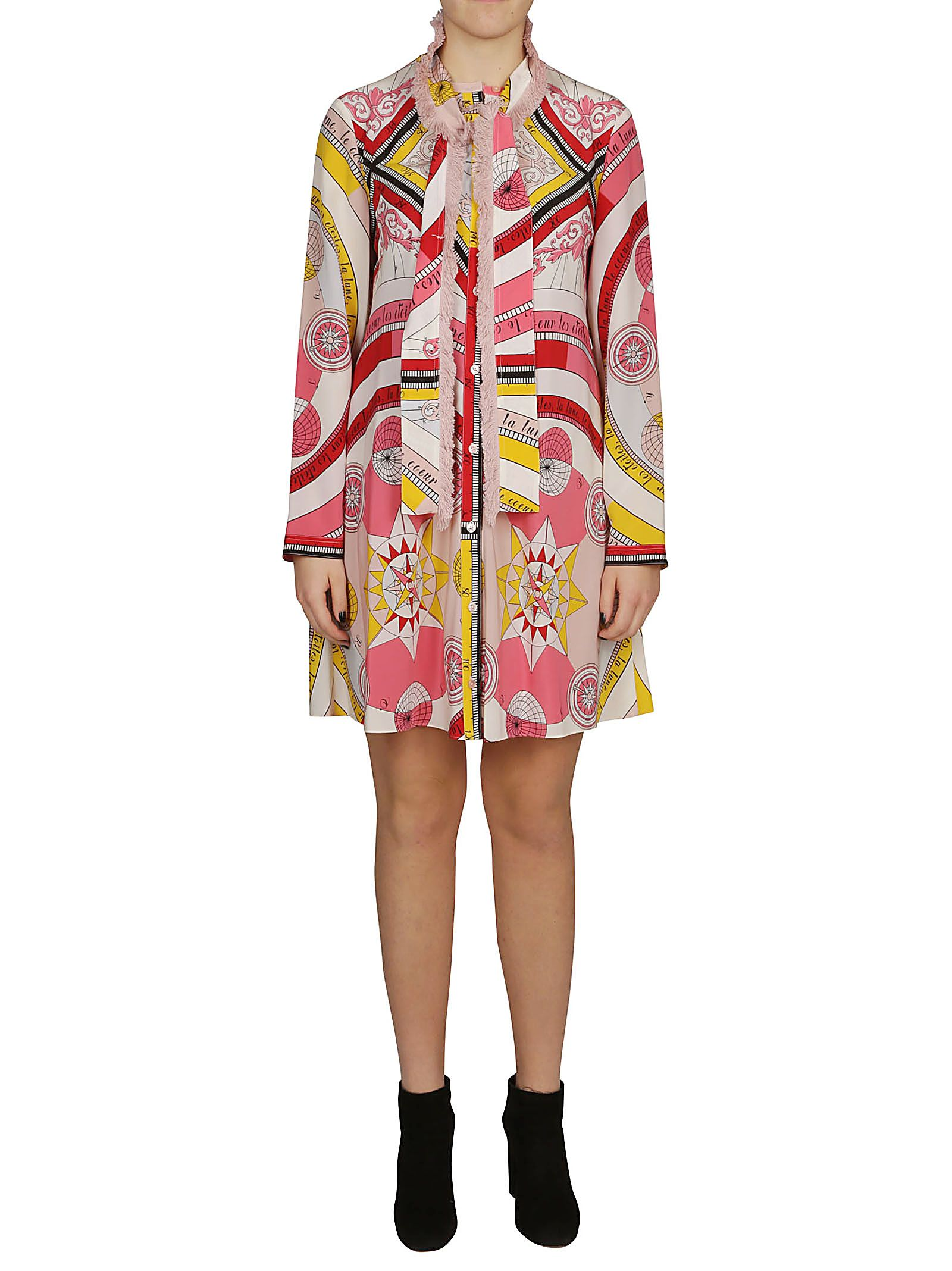 96d4b2d6354 Tory Burch Tory Burch Printed Shirt Dress - Fantasia - 10788309 ...
