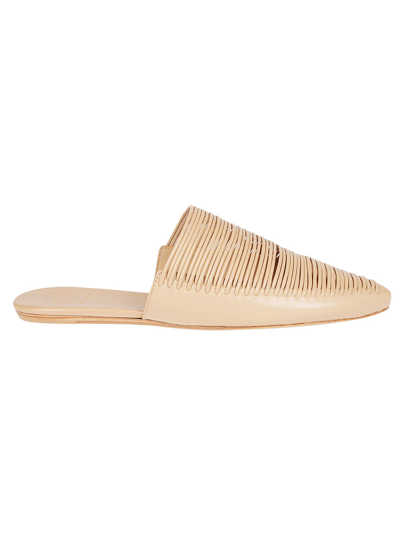 42cb9eb1e51 Tory Burch Tory Burch Sienna Flat Sandals - Natural Vachetta ...