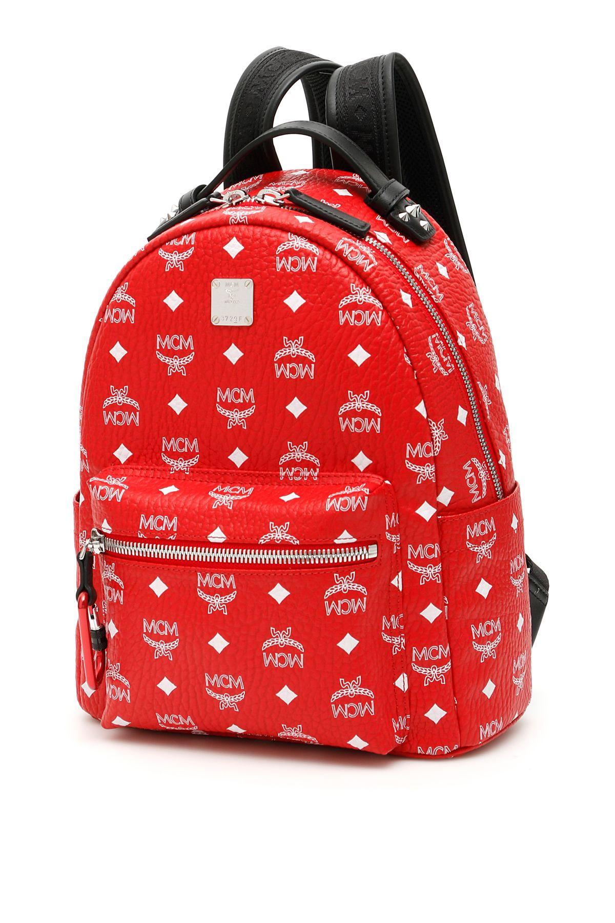 aff67c0f7 MCM MCM Visetos Stark Backpack - WHITE LOGO VIVA RED (Red ...