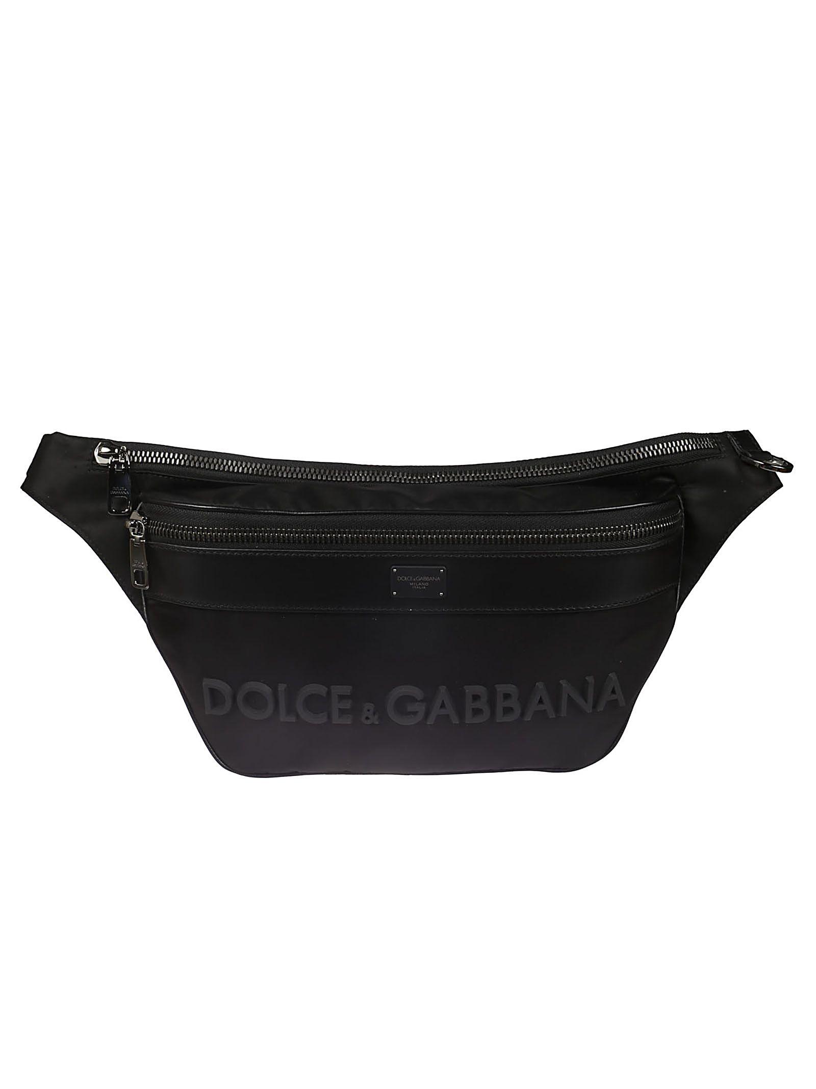 e93edb38083a Dolce   Gabbana Dolce   Gabbana Trim Sling Bag - Black - 10805776 ...
