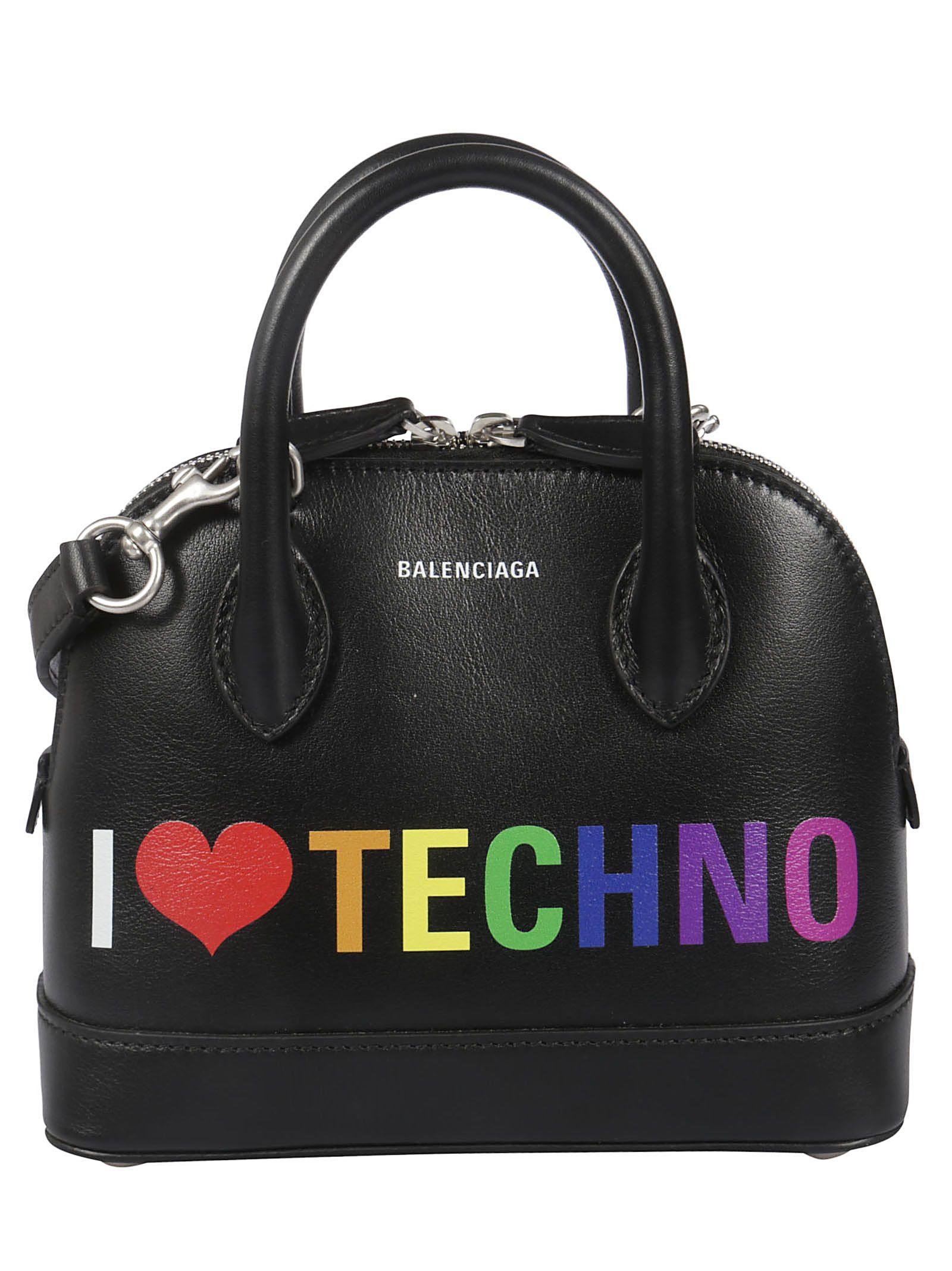 a33f5aa554a Balenciaga Balenciaga Extra Extra Small I Love Technoville Tote ...