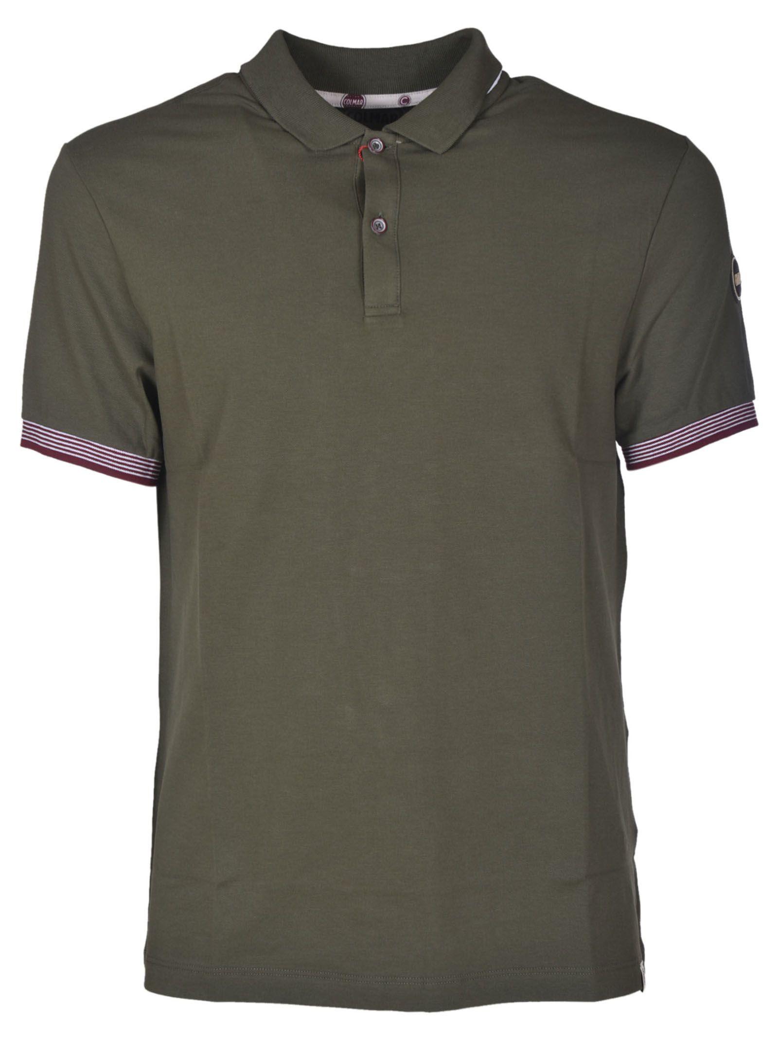 51c10a0ef Colmar Colmar Contrast Trim Polo Shirt - Green - 10615038