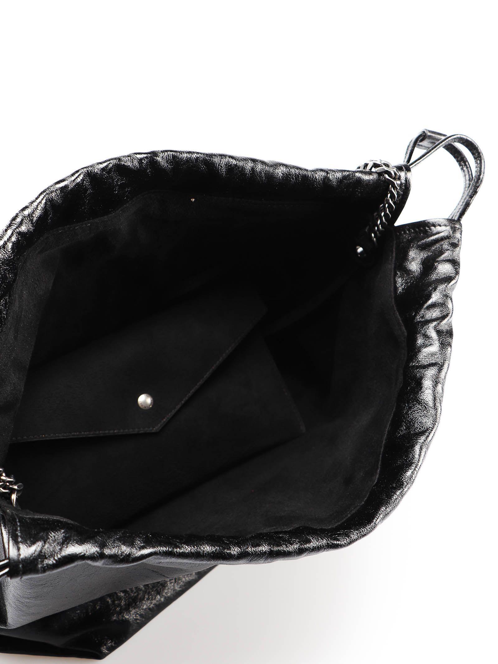 Saint Laurent Saint Laurent Teddy Sac Bucket Bag - Black - 10866861 ... 69f704d57af02