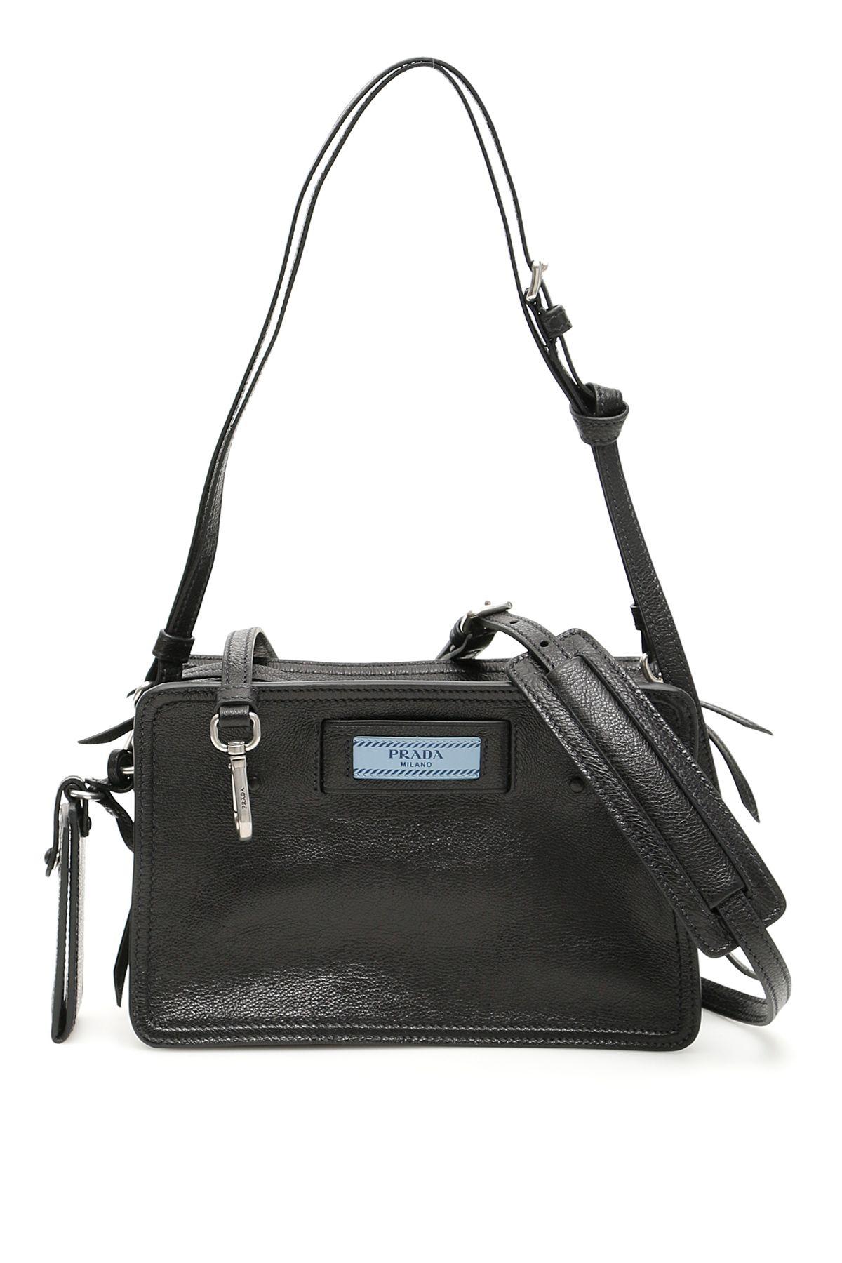 9e6c87618fec Prada Prada Etiquette Logo Camera Bag - NERO ASTRALE (Black ...