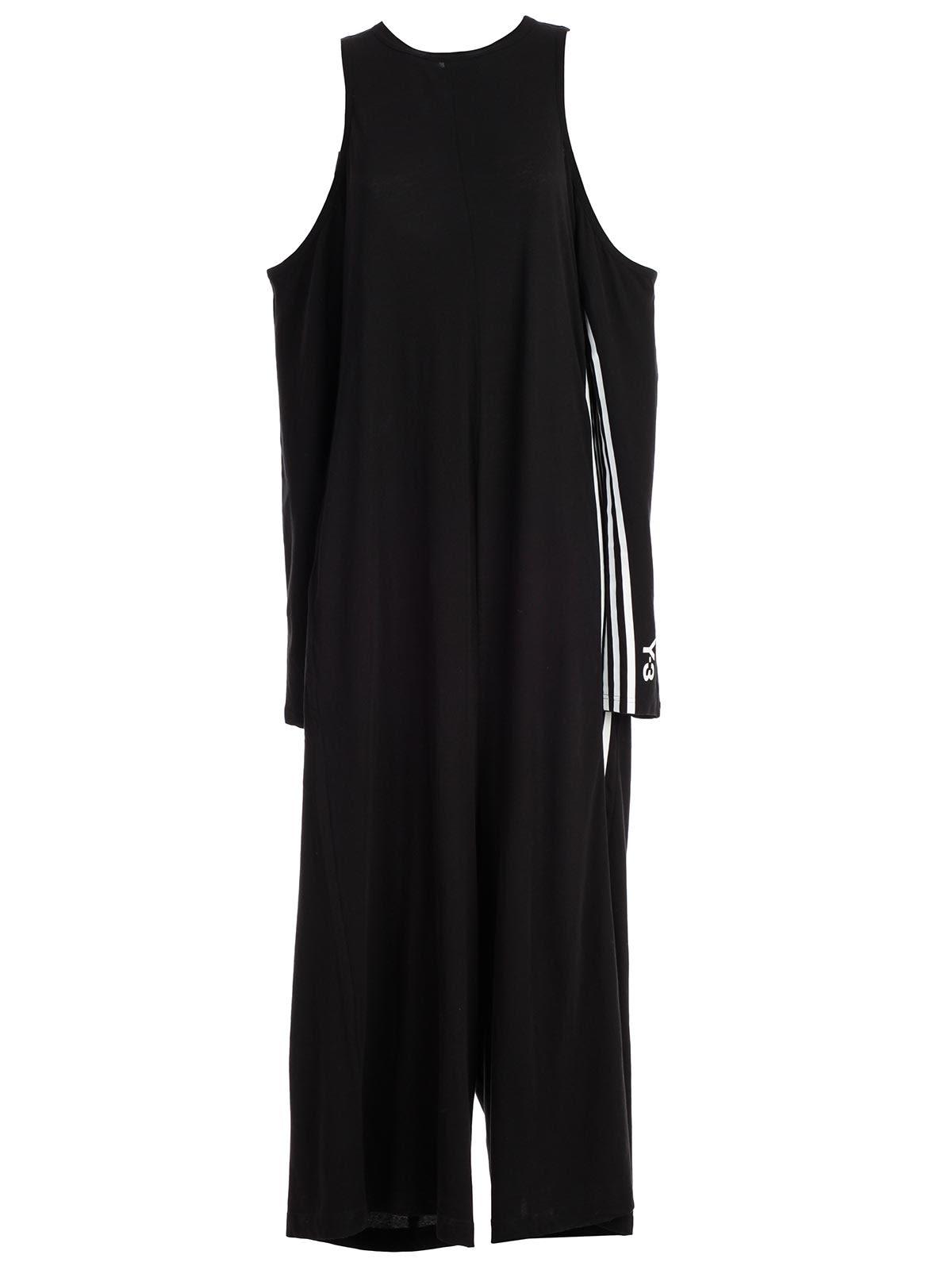 d7830ed134d5 Y-3 Y-3 Yohji Yamamoto Adidas Logo Jumpsuit - Black - 10797315