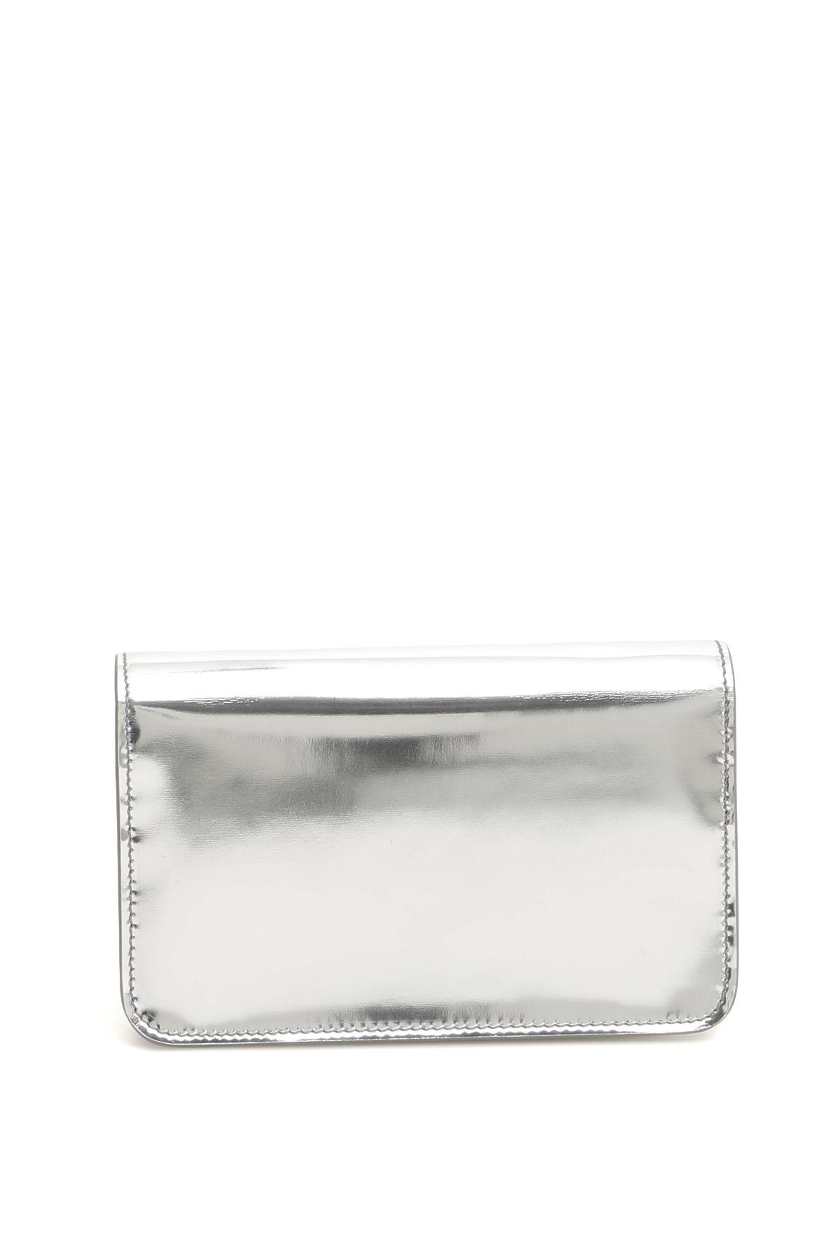 38e36d0fa96 Calvin Klein Calvin Klein Mini Crossbody Bag - SILVER (Metallic ...
