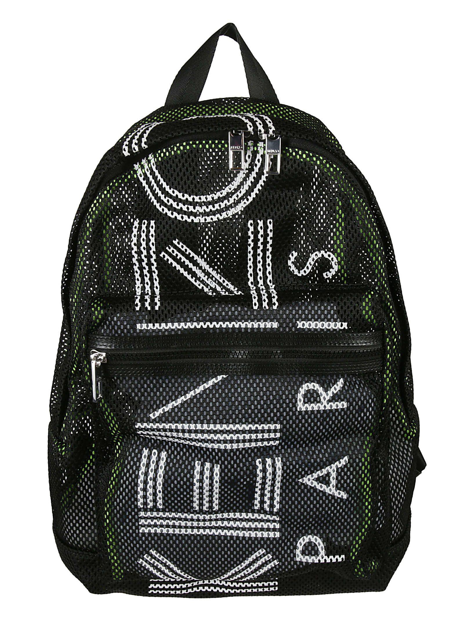 e3a255a55 Kenzo Kenzo Large Logo Mesh Backpack - Black - 10849971 | italist