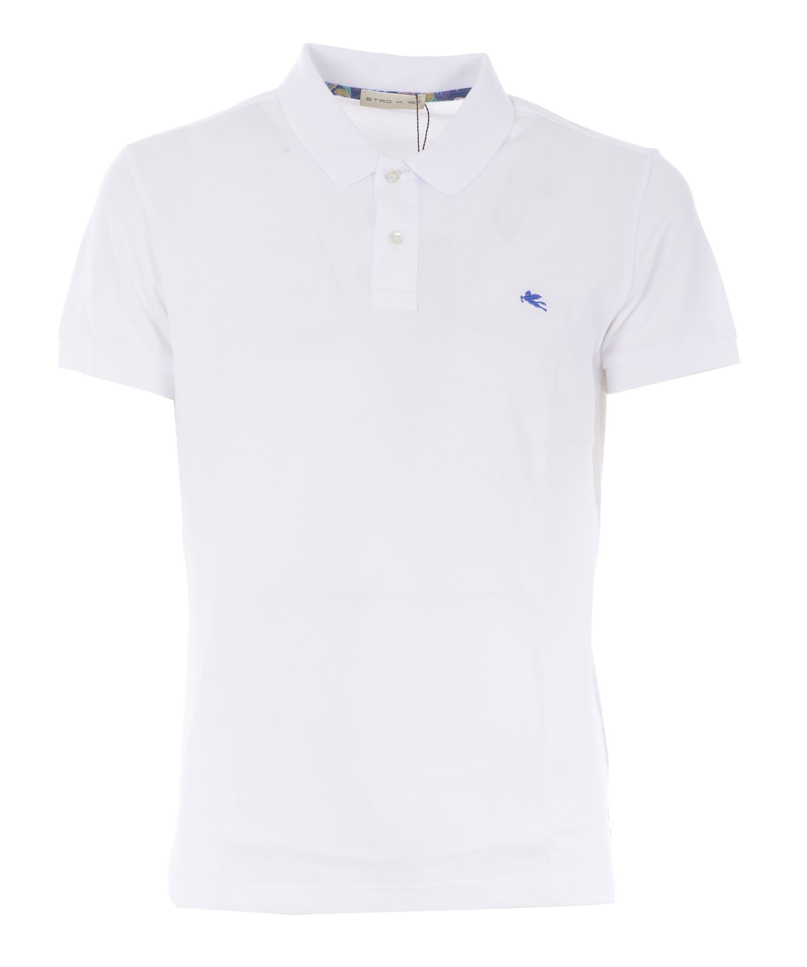 96b3aee2a Etro Chest Logo Polo Shirt - Bianco - 10863597 | italist