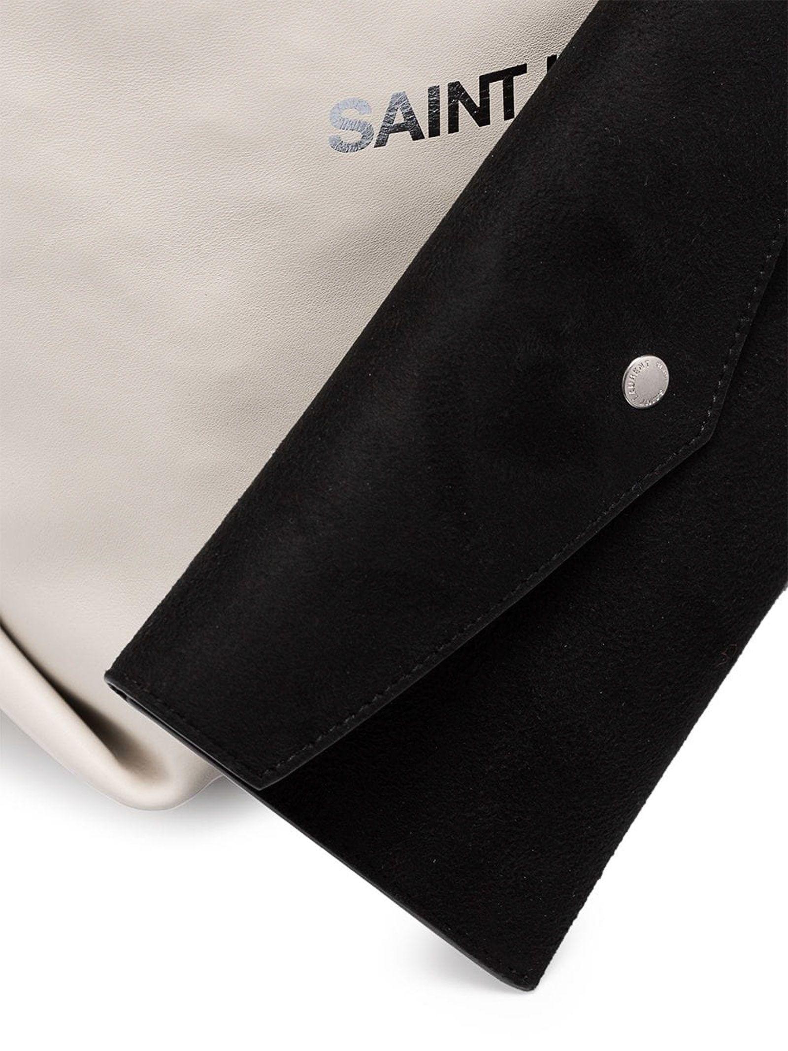 d66917b572 Saint Laurent Saint Laurent Classic Bucket Bag - Crema Soft ...