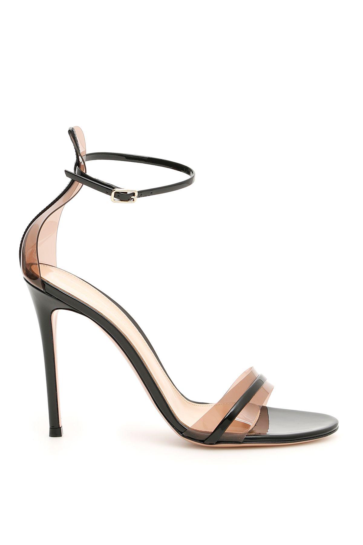 e1f15f174db Gianvito Rossi Gianvito Rossi G String 105 Sandals - BLACK BLUSH ...