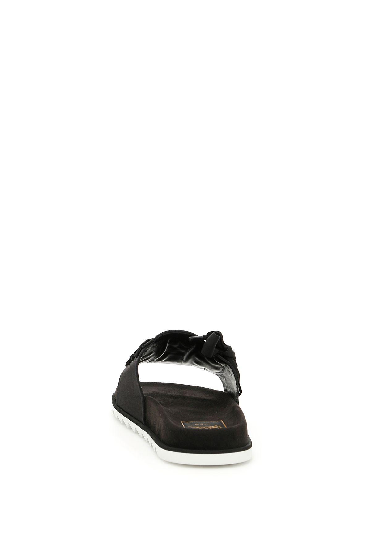 f0e5f17c471e Roger Vivier Roger Vivier Viv Etiquette Slides - BLACK