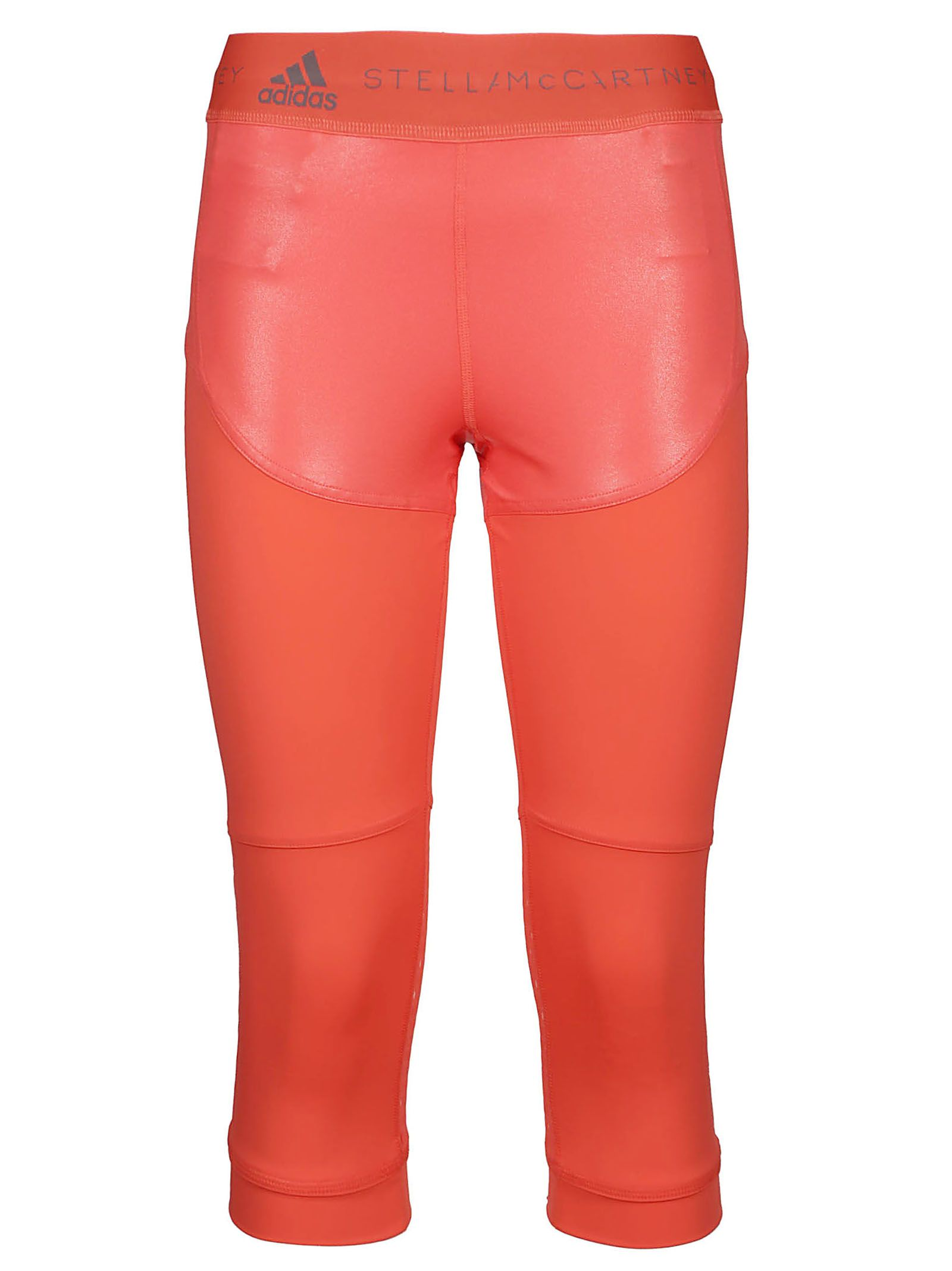 d6305bdac59b6 Adidas by Stella McCartney Run Three Quarter Leggings - Hot Coral ...