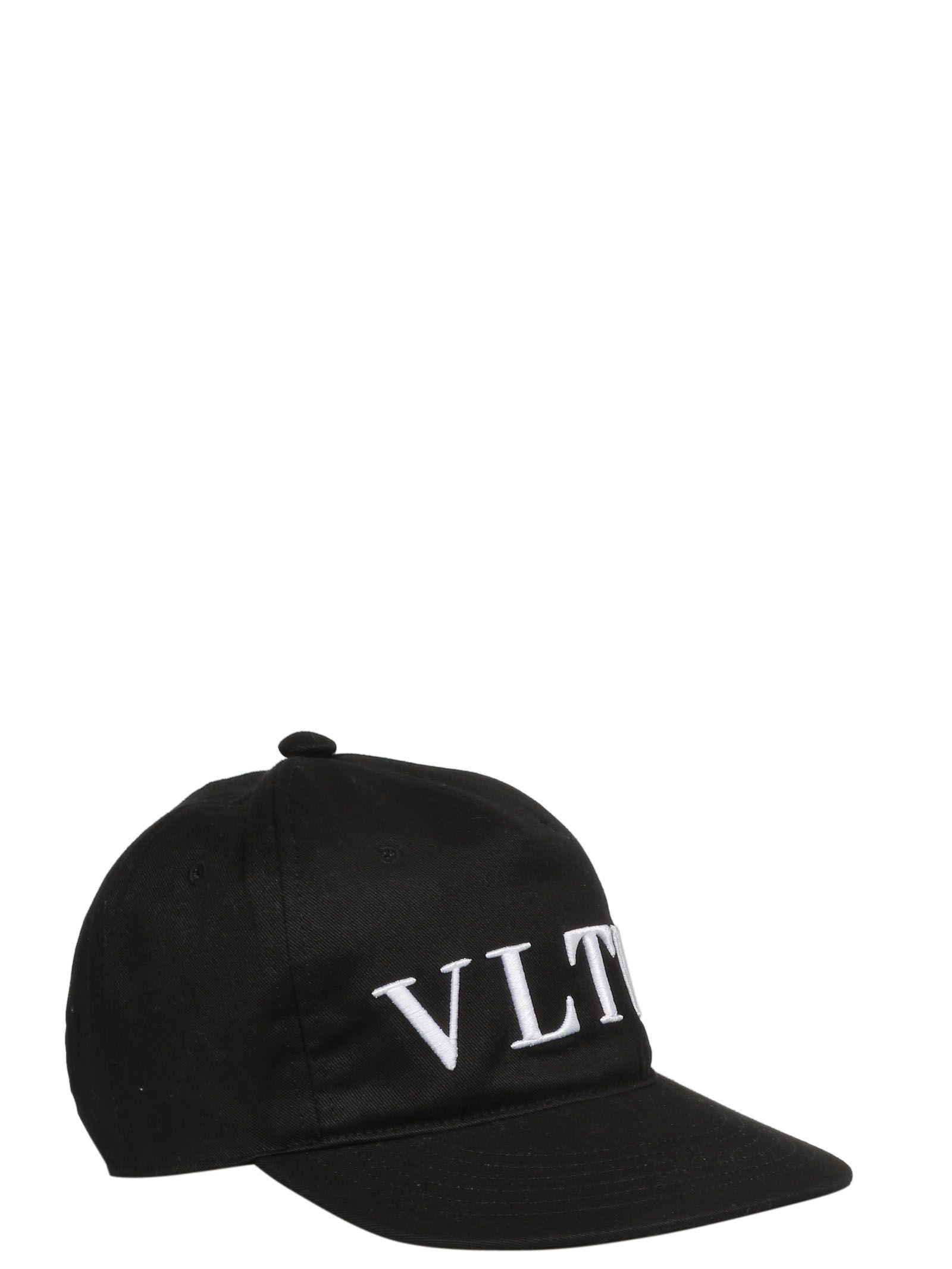 bb7cb5d671f Valentino Garavani Valentino Garavani Vltn Logo Baseball Cap - No ...