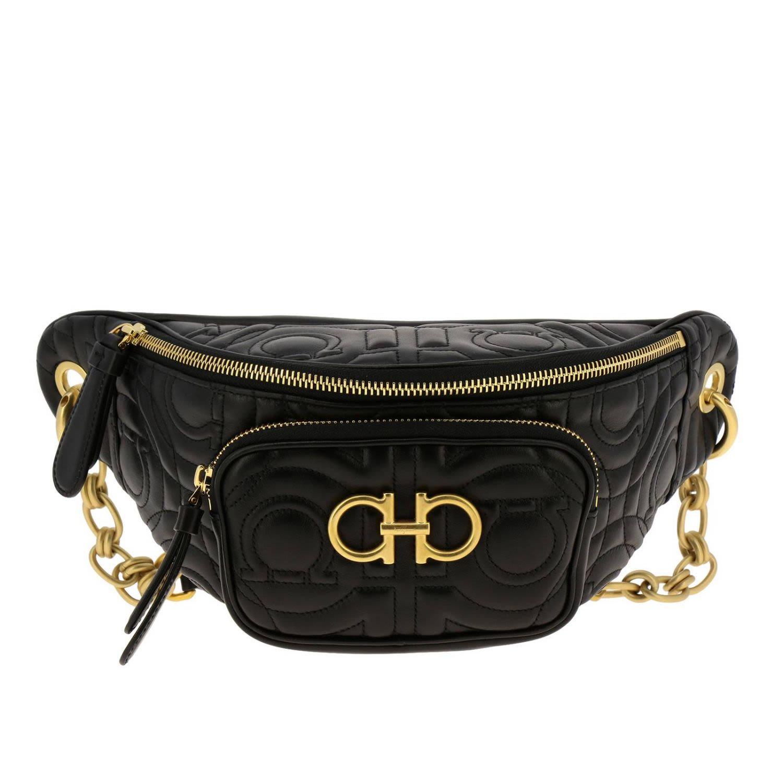 57b0f3a1c73b Salvatore Ferragamo Belt Bag Shoulder Bag Women Salvatore Ferragamo - Black  ...