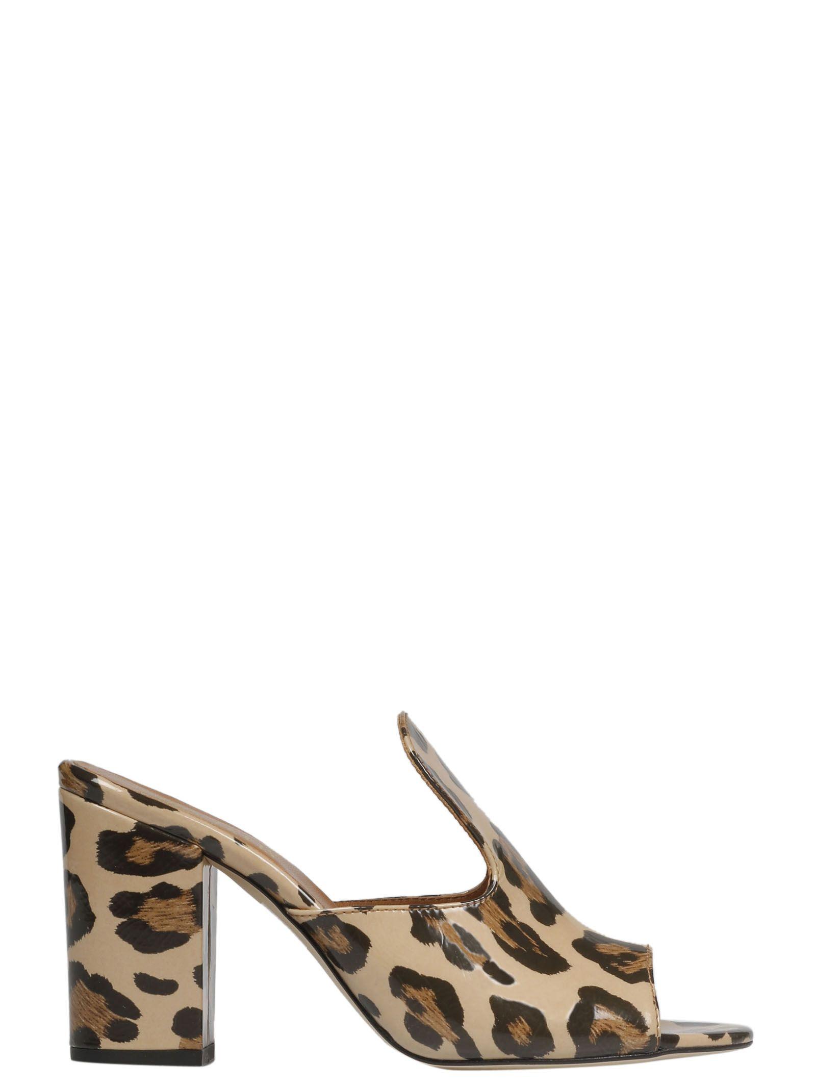 5b2c5c738a0298 Paris Texas Paris Texas Leopard Print Mules - Basic - 10837468