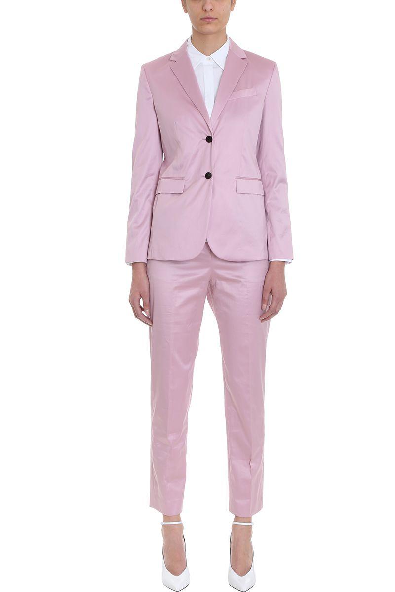 c5d1f754d8 Theory Theory Cotton Chintz Classic Blazer - rose-pink - 10802081 ...