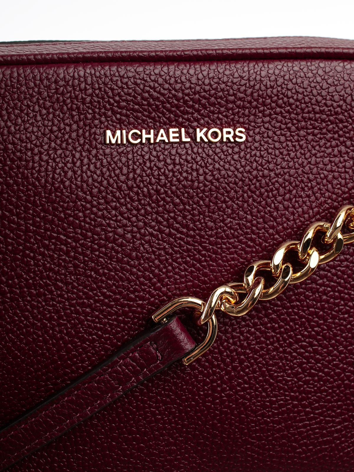 460f4c0ad61c ... MICHAEL Michael Kors Ginny Medium Camera Shoulder Bag - Oxblood
