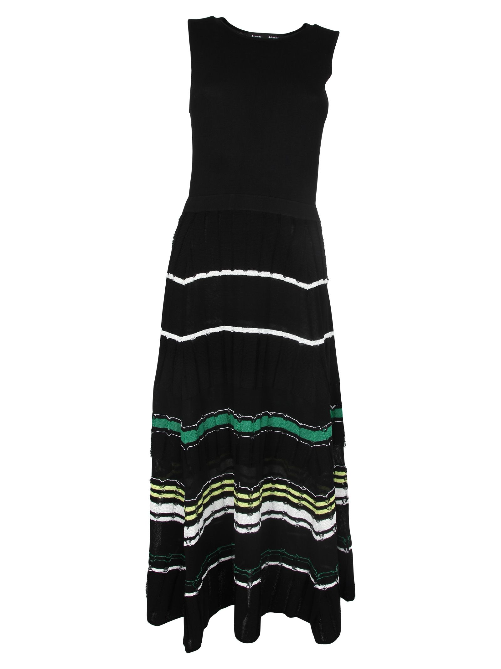 4a360916bd2 Proenza Schouler Proenza Schouler Pleated Long Dress - Black green ...