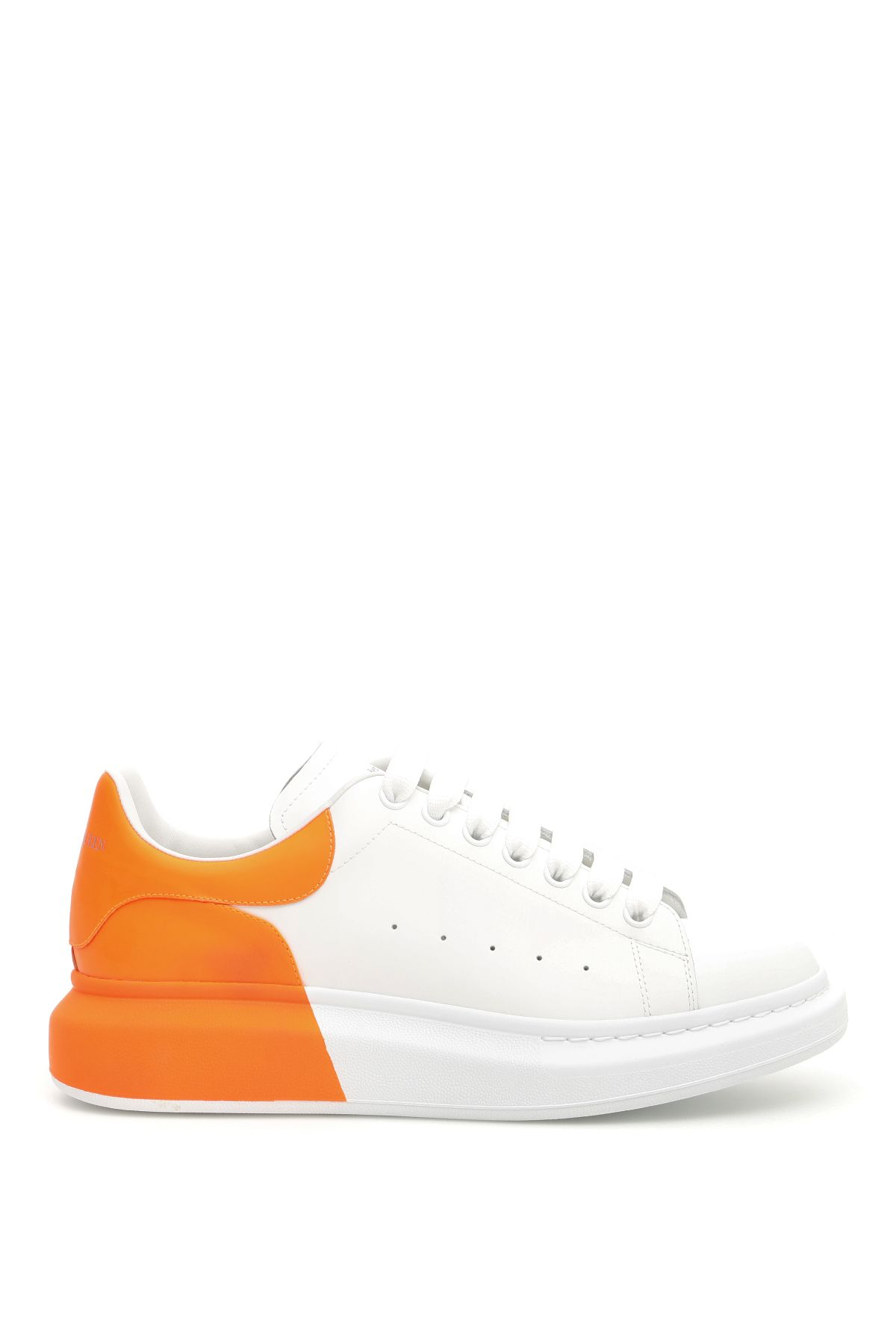 a629ce8a847 Alexander McQueen Fluo Oversize Sneakers - WHITE ORANGE SPACE (White) ...