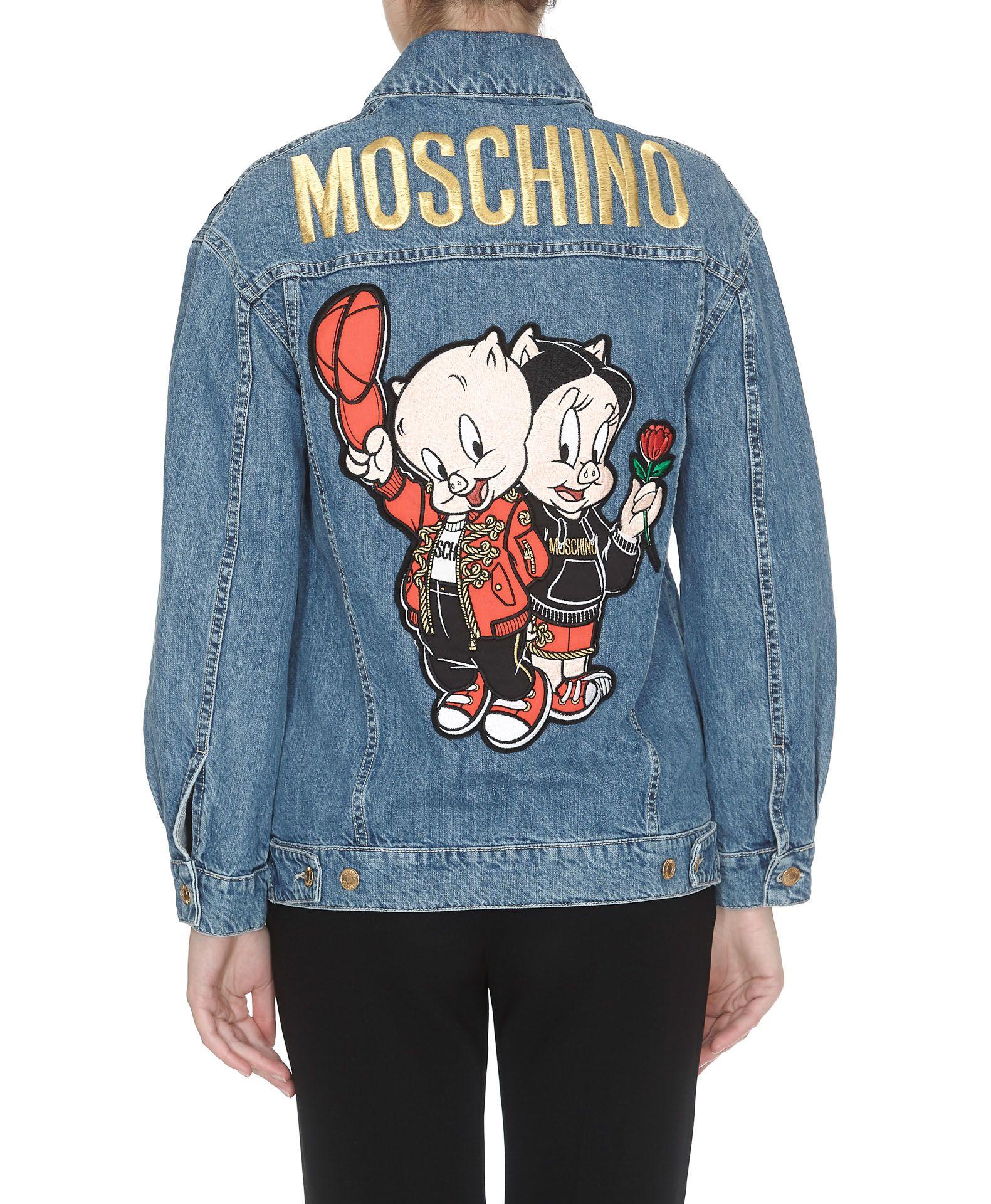 bea6fa729b Moschino Moschino Looney Tunes Chinese New Year Denim Jacket - Blue ...