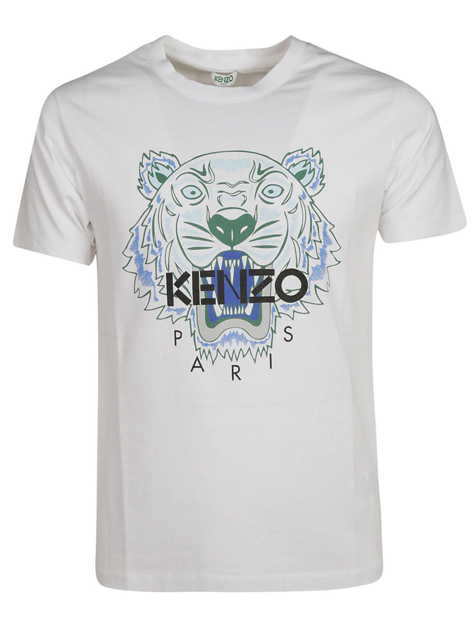 Kenzo Kenzo Tiger Print T-shirt - white - 10856139  be1a1d0a8