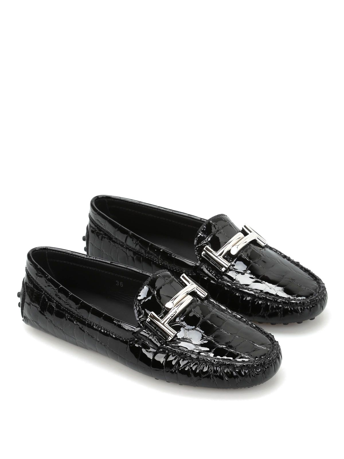 99029948929 Tod s Quilted Loafers - Black Tod s Quilted Loafers - Black ...