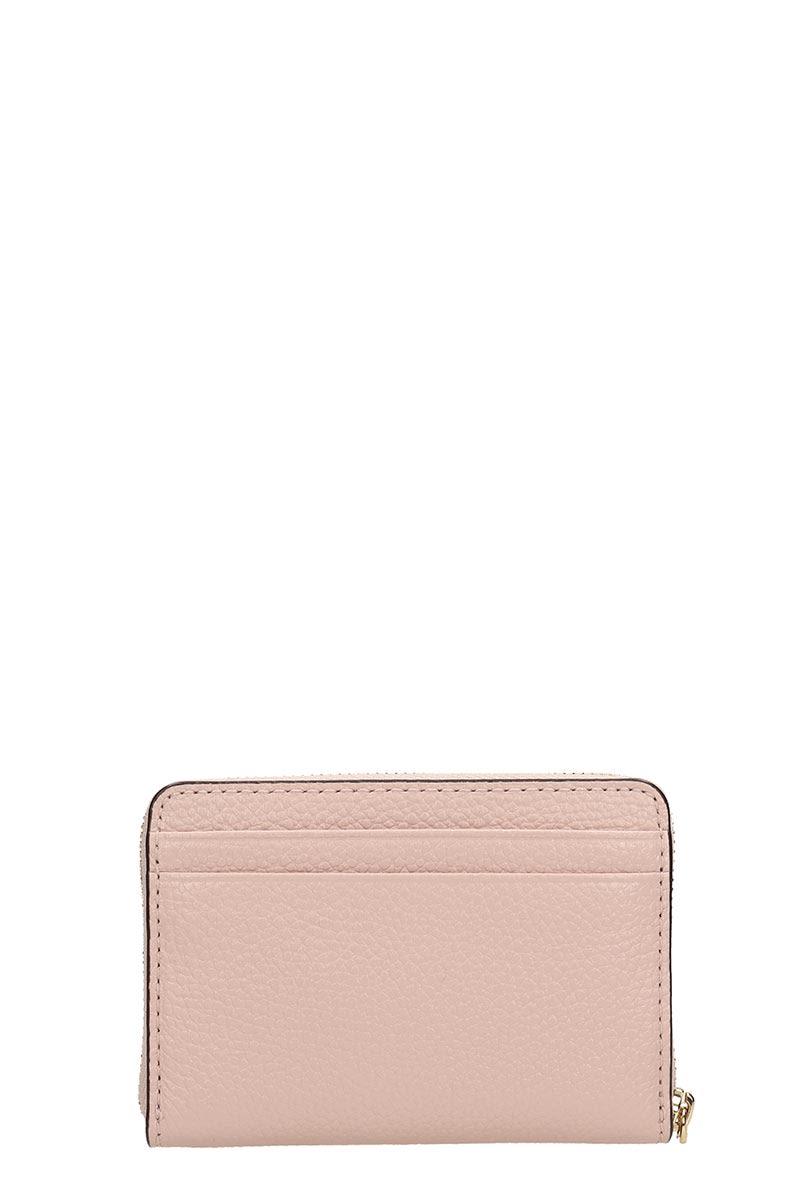 76fc8619ce98 Michael Kors Michael Kors Pink Leather Wallet - rose-pink - 10927297 ...