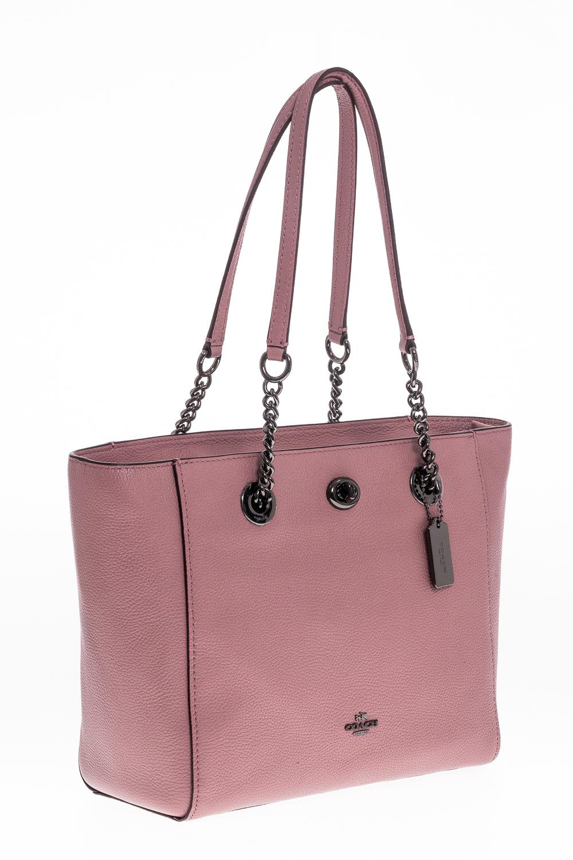 ... clearance coach shopping bag leather coach pink b001d 4686b 538cb856733de