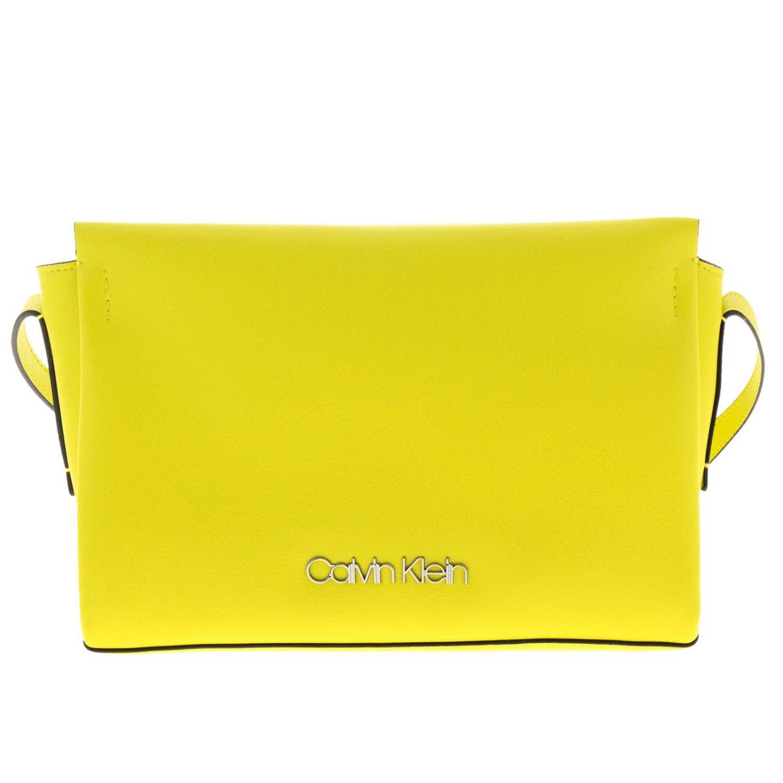 acc1377f5ed Calvin Klein Crossbody Bags Shoulder Bag Women Calvin Klein - yellow ...