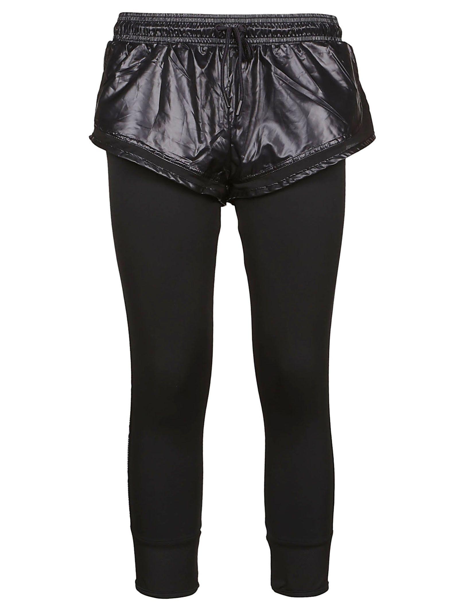 b9028ebc92e50 Adidas by Stella McCartney Performance Essentials Shorts Over Leggings -  Black ...