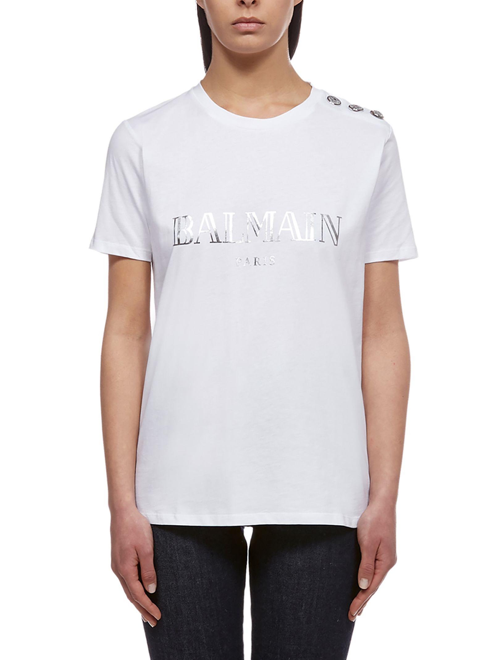 2a3ab72b5 Balmain Balmain Printed T-shirt - Basic - 10864974 | italist