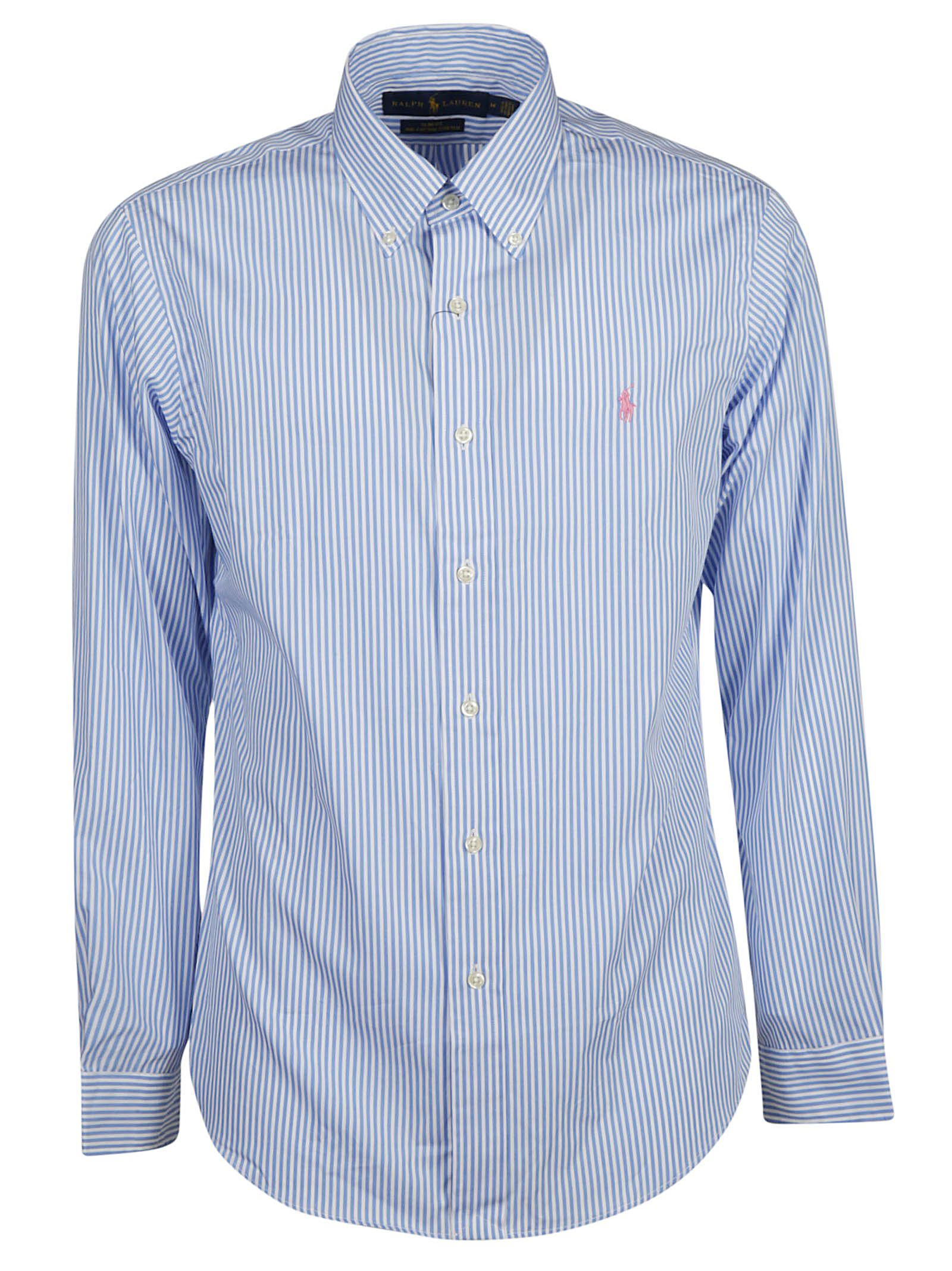 44ade5792 ... polo ralph lauren cbf37 59d9c; where to buy ralph lauren striped shirt  blue white 571ed a5f6b