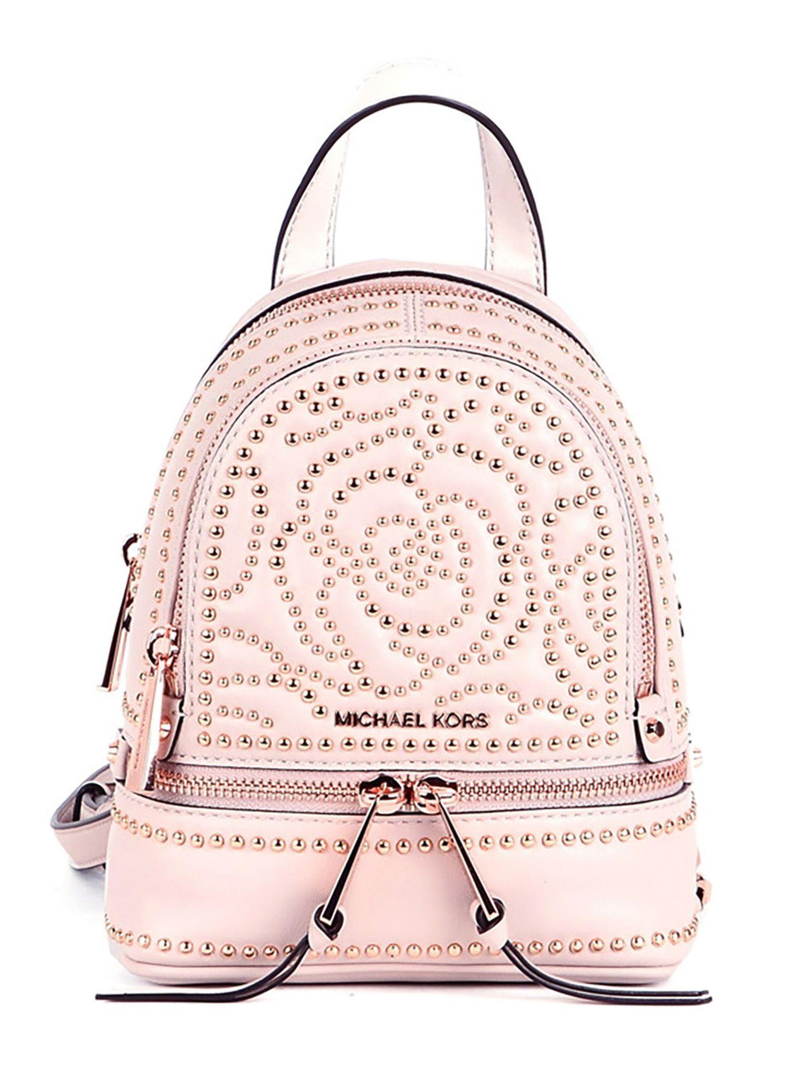 44b46ebb4a2d MICHAEL Michael Kors MICHAEL Michael Kors Mini Backpack - Light PINK ...